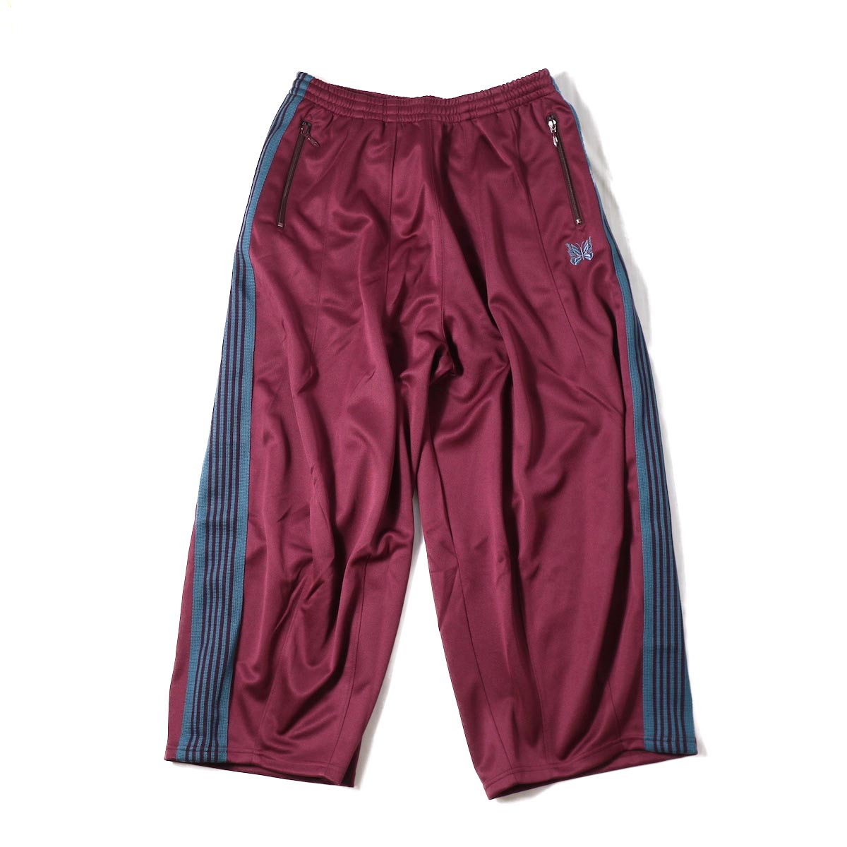 NEEDLES / H.D. Track Pant  Poly Smooth -Maroon