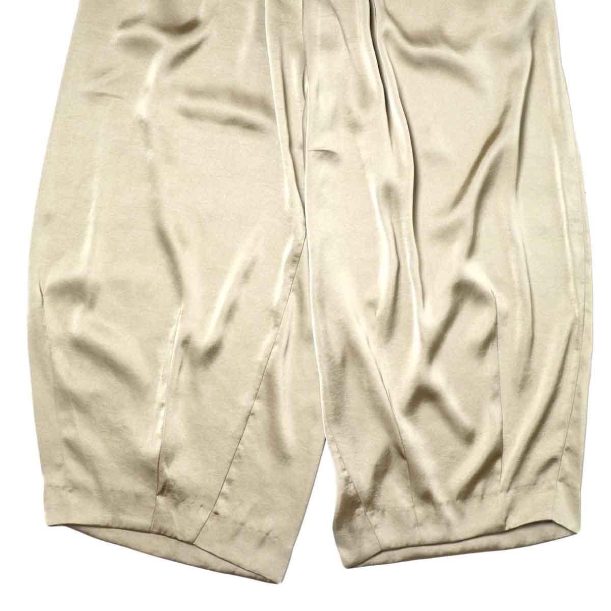 Needles / H.D. PANT-POLY SATEEN (Khaki) 裾
