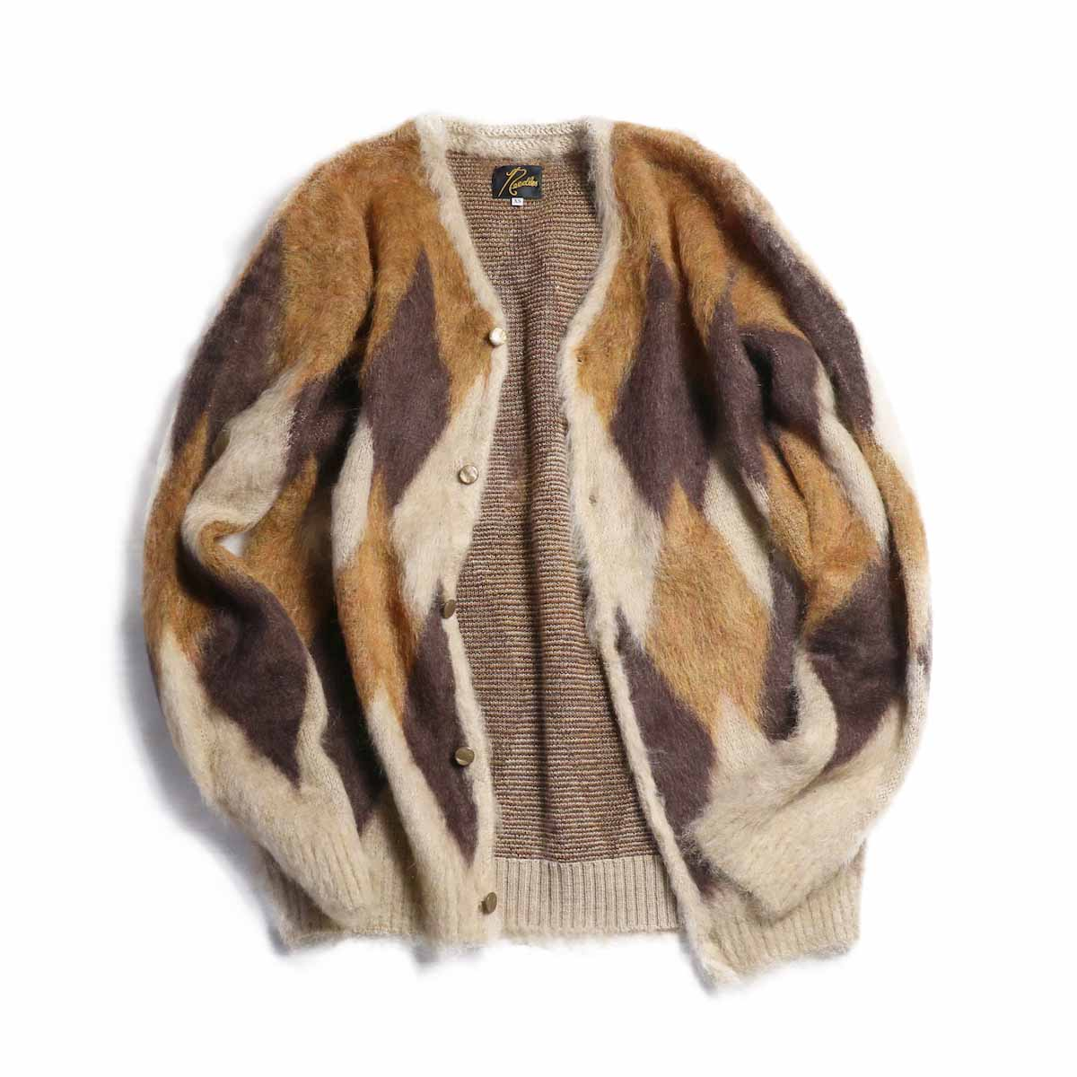 NEEDLES / Mohair Cardigan -Diamond (Beige)