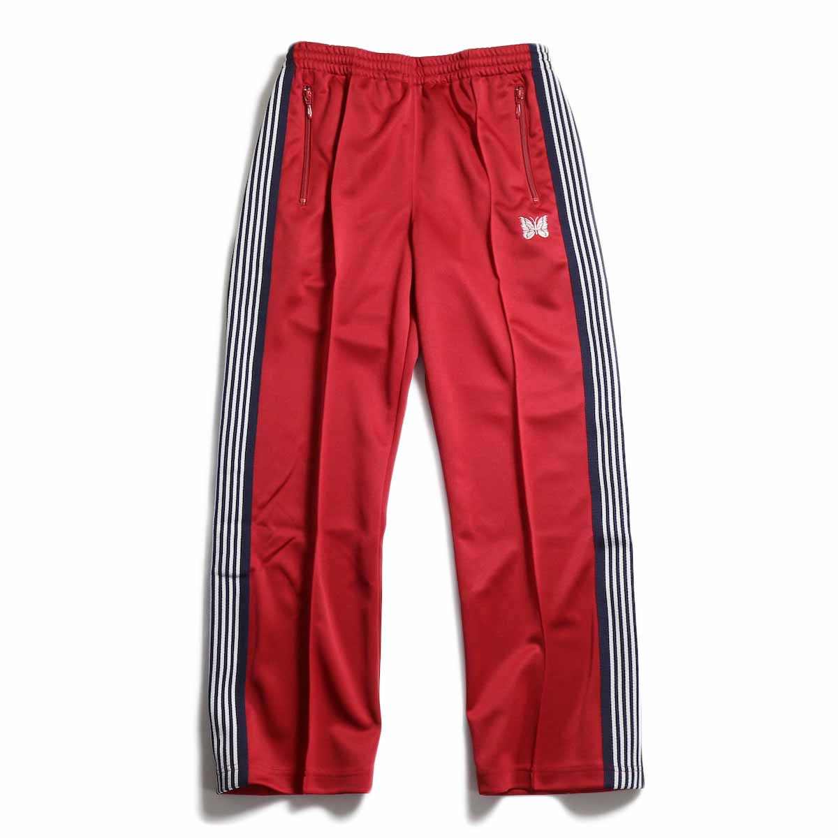 Needles / Track Pant -Poly Smooth (Red)