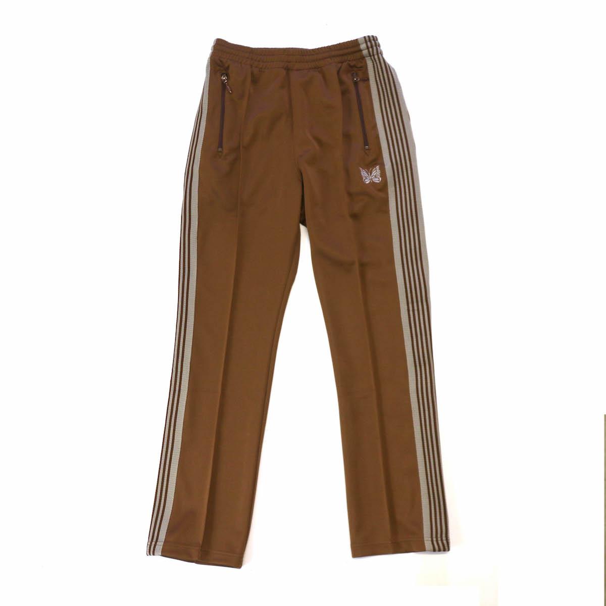NEEDLES / NARROW TRACK PANTS -BROWN