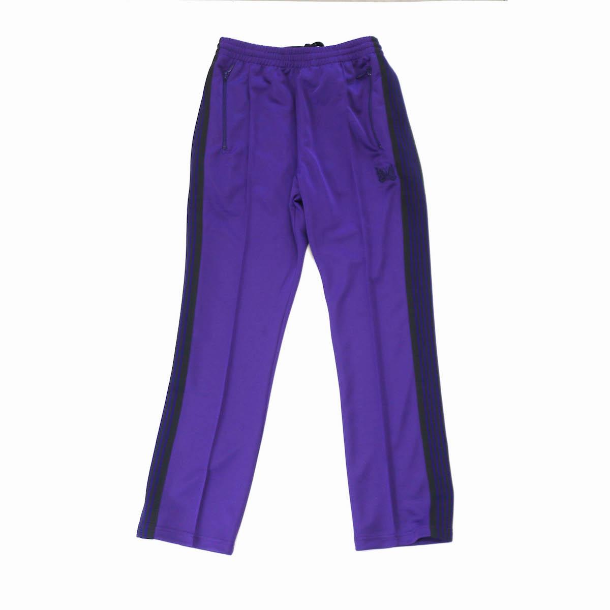 NEEDLES / NARROW TRACK PANTS -PURPLE