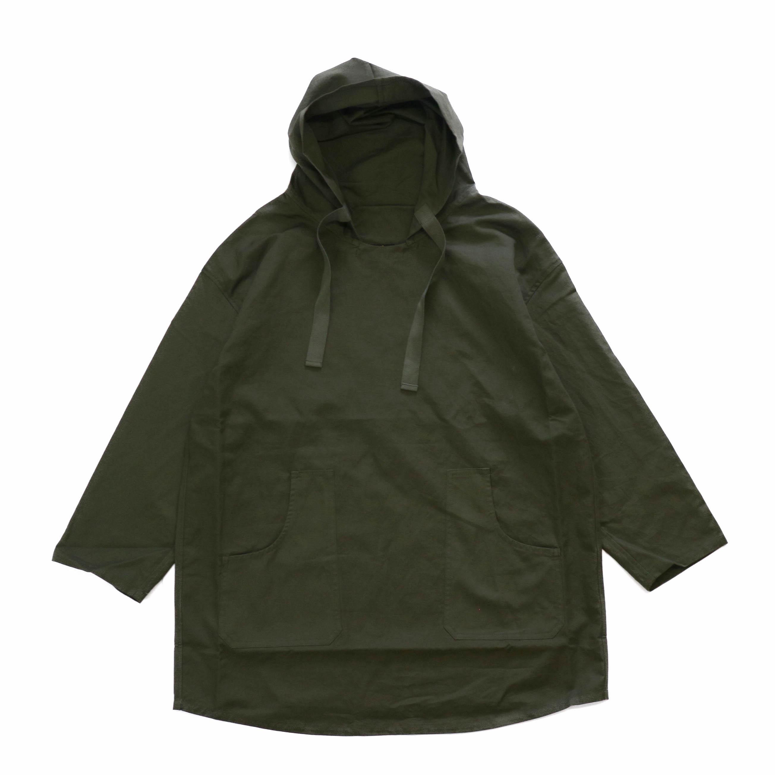 Needles / Pullover Parka -C/L Canvas -Green