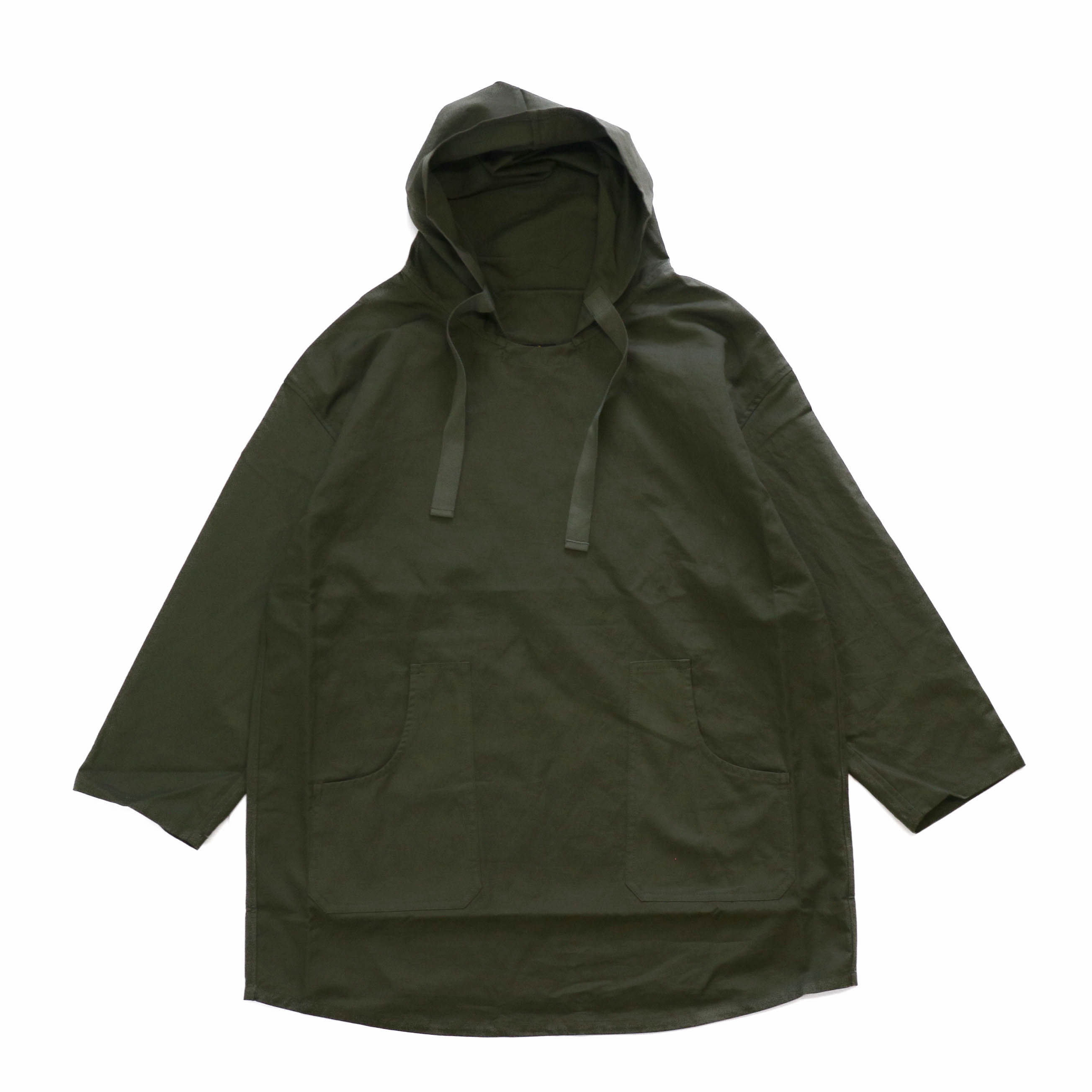 Needles / Pullover Parka -C/L Canvas -Green