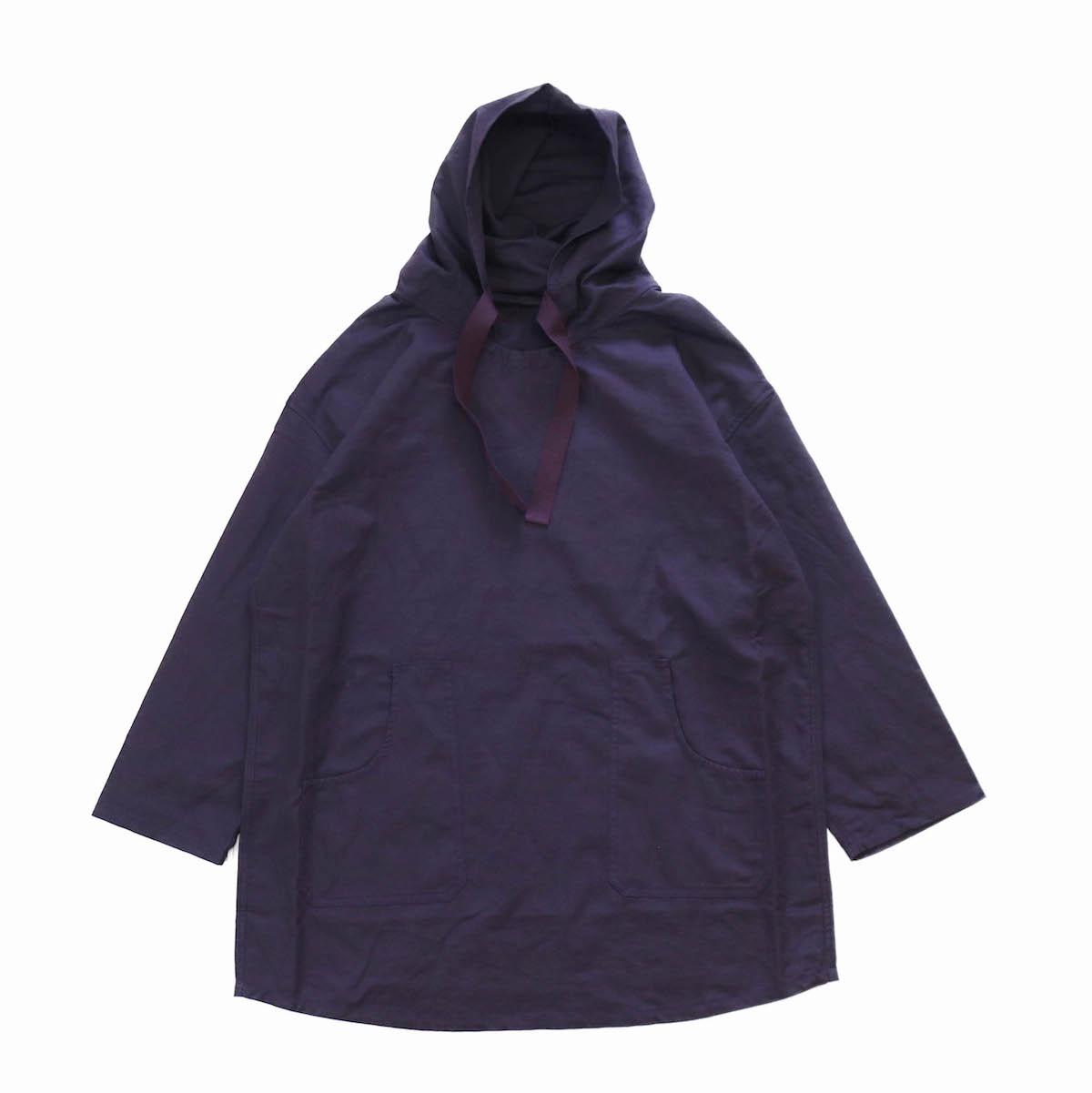 Needles / Pullover Parka -C/L Canvas -purple