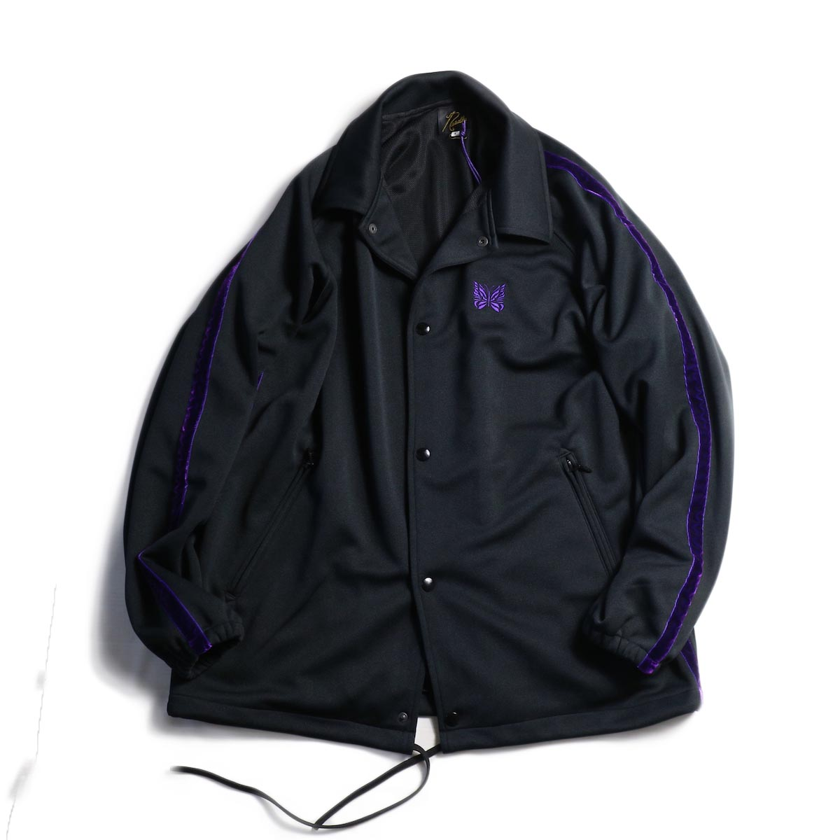 NEEDLES / Side Line Coach Jacket -Poly Smooth