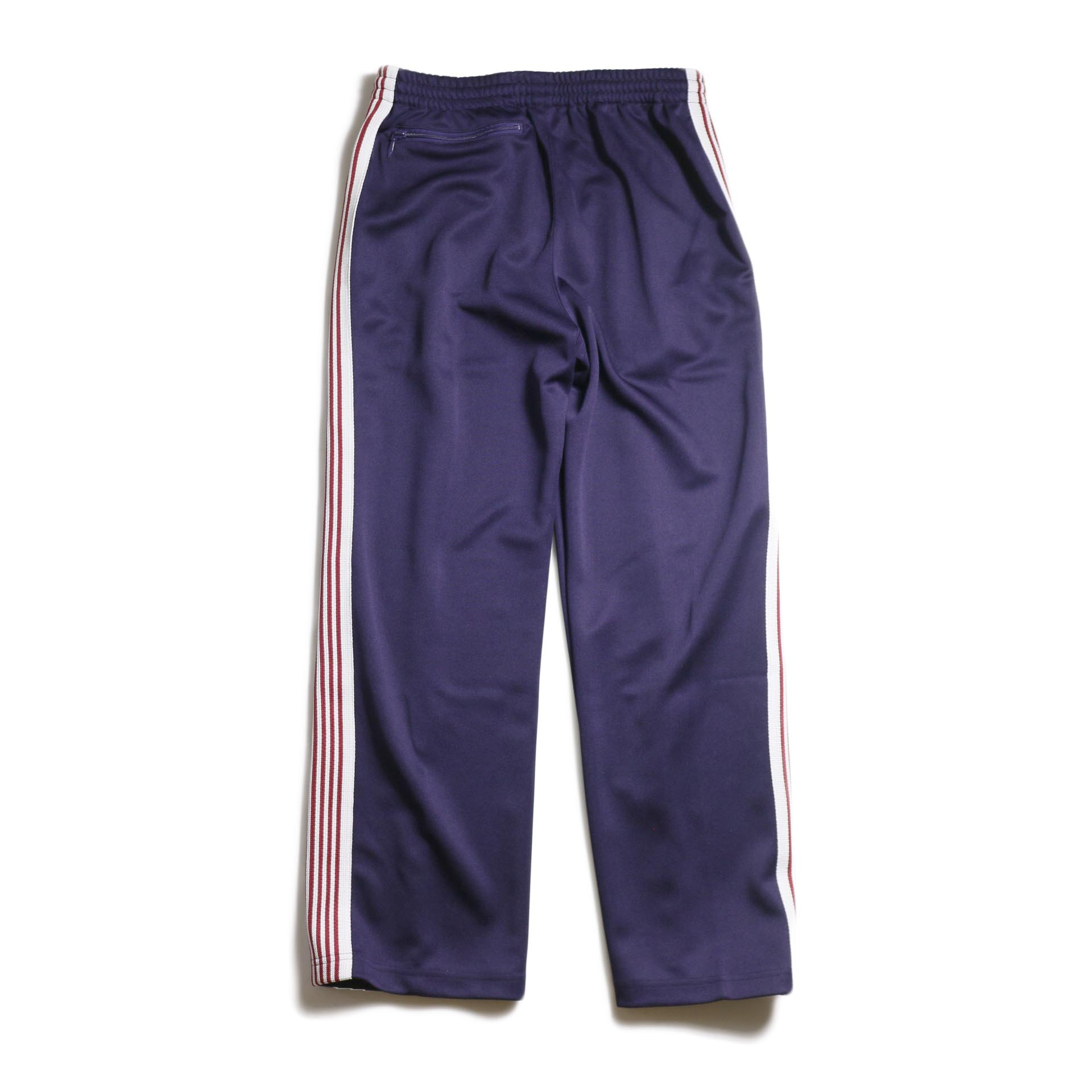 Needles / Track Pant -Poly Smooth (Eggplant) 背面