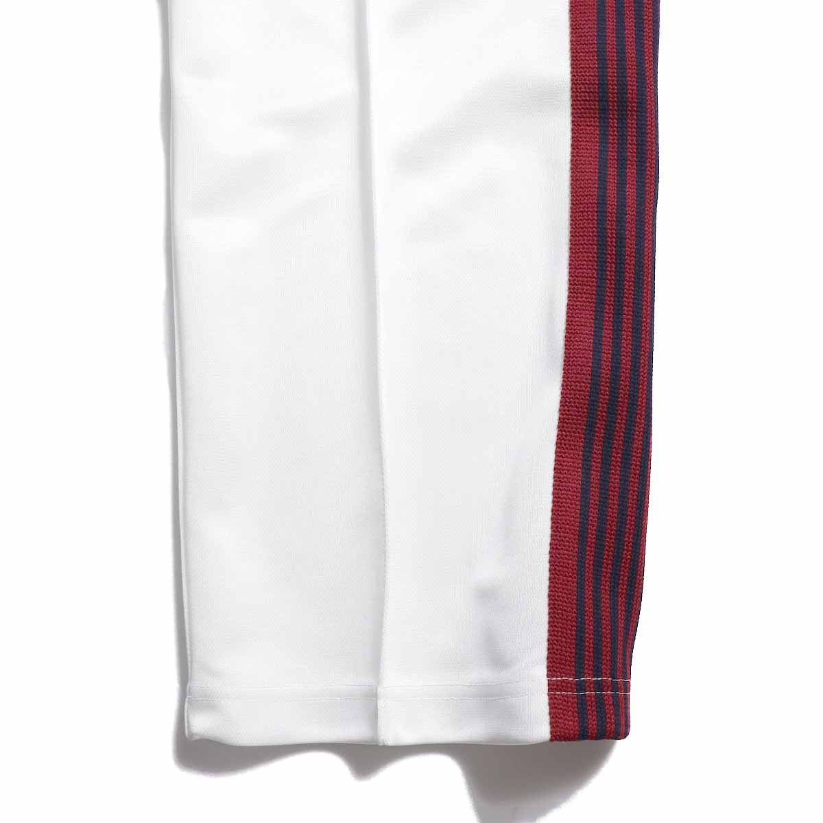 Needles / Track Pant -Poly Smooth (White) 裾
