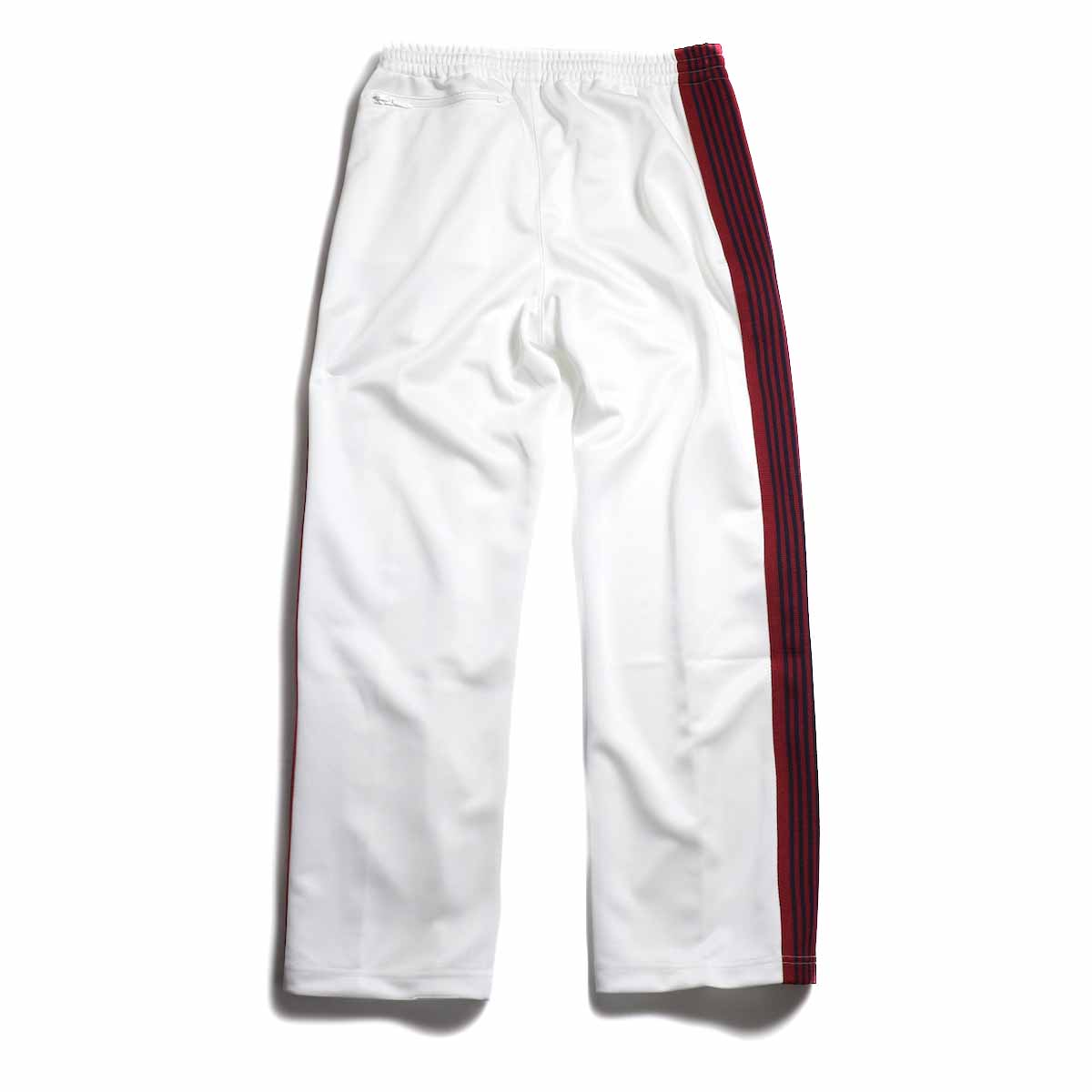 Needles / Track Pant -Poly Smooth (White) 背面