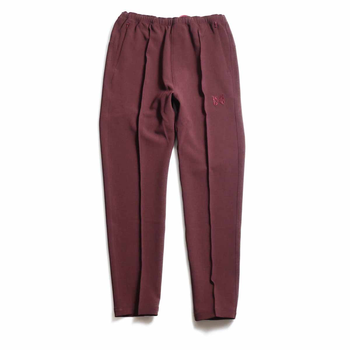 NEEDLES / Warm-Up Pant -Poly Double Cloth (Bordeaux)