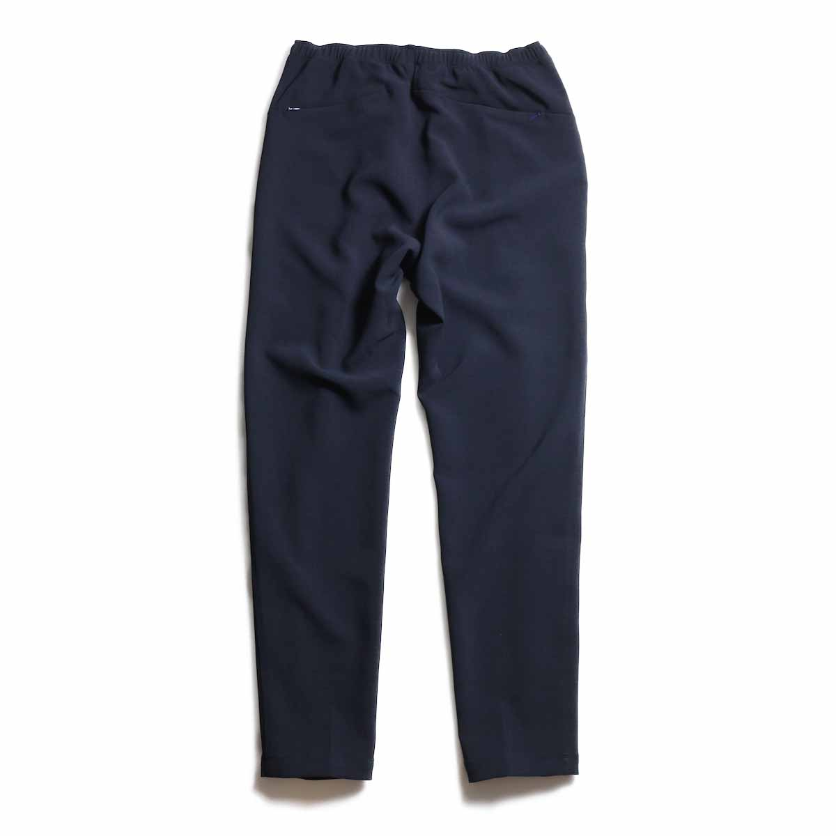 NEEDLES / Warm-Up Pant -Poly Double Cloth (Navy) 背面