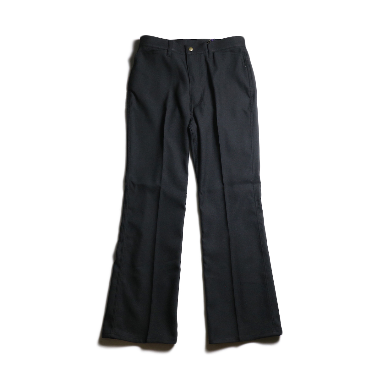 Needles / BOOT-CUT JEAN - POLY TWILL (Black)