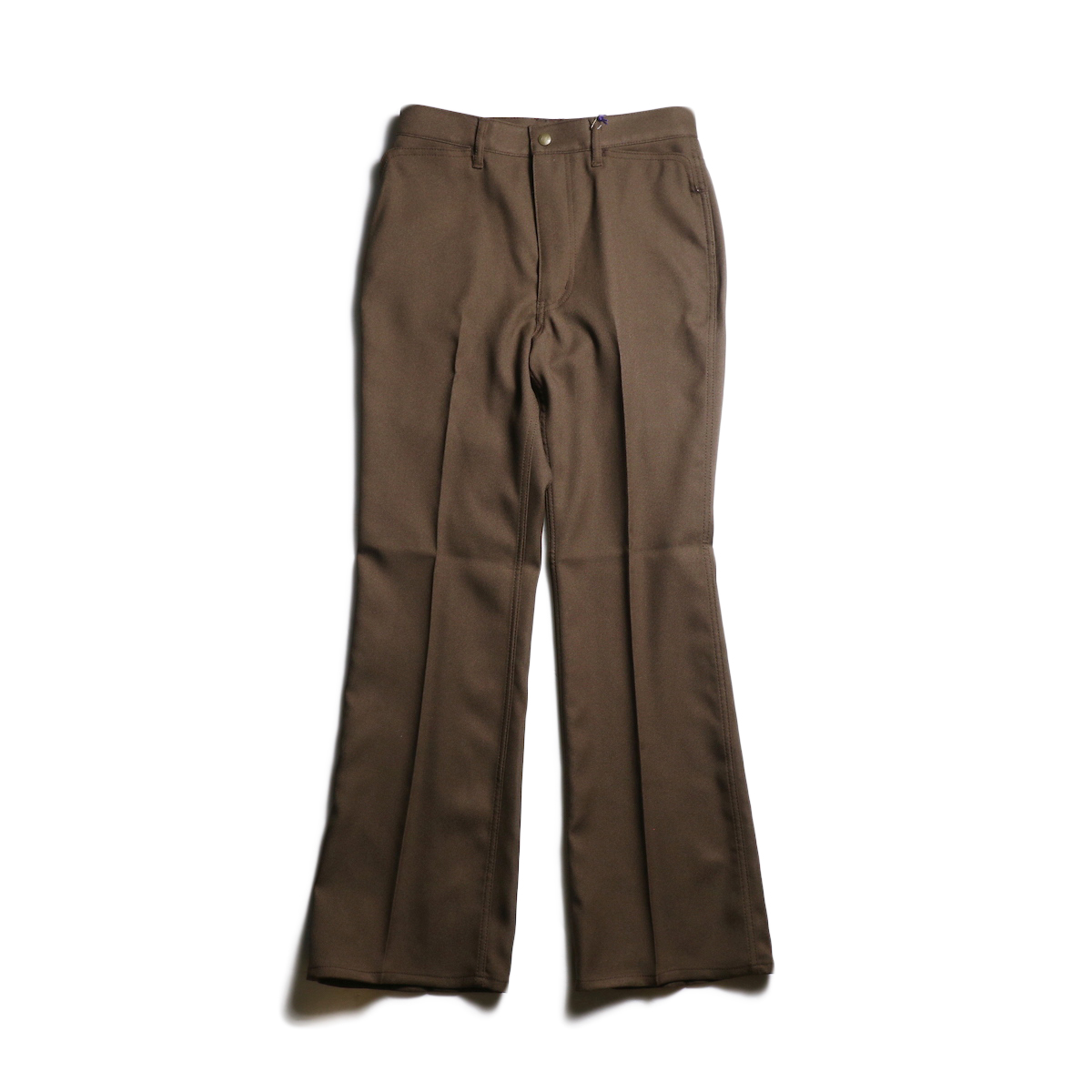 Needles / BOOT-CUT JEAN - POLY TWILL (Brown)