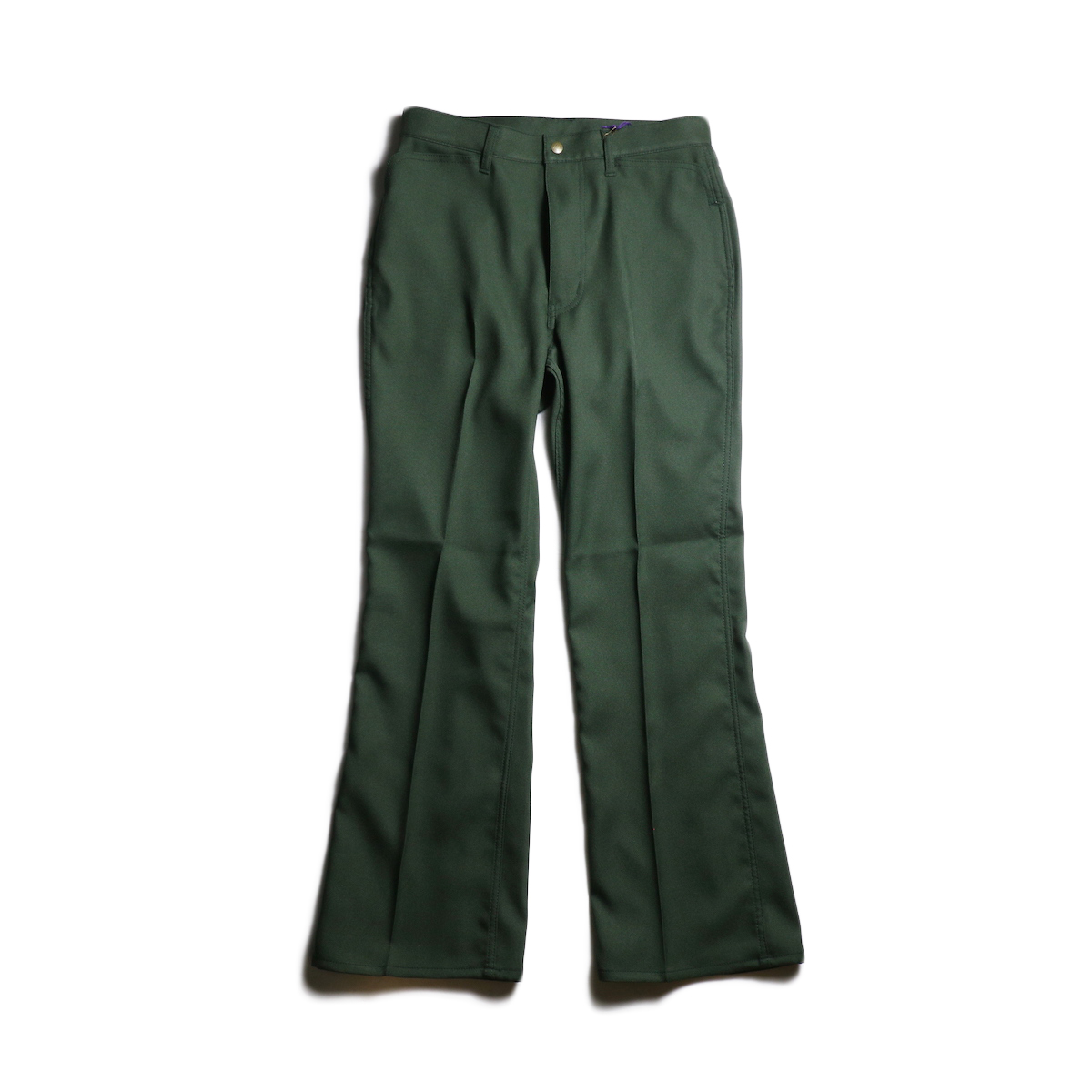 Needles / BOOT-CUT JEAN - POLY TWILL (Green)