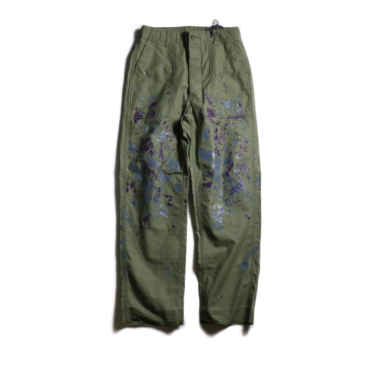 Needles / Fatigue Pant -Back Steen/Paint (Olive)
