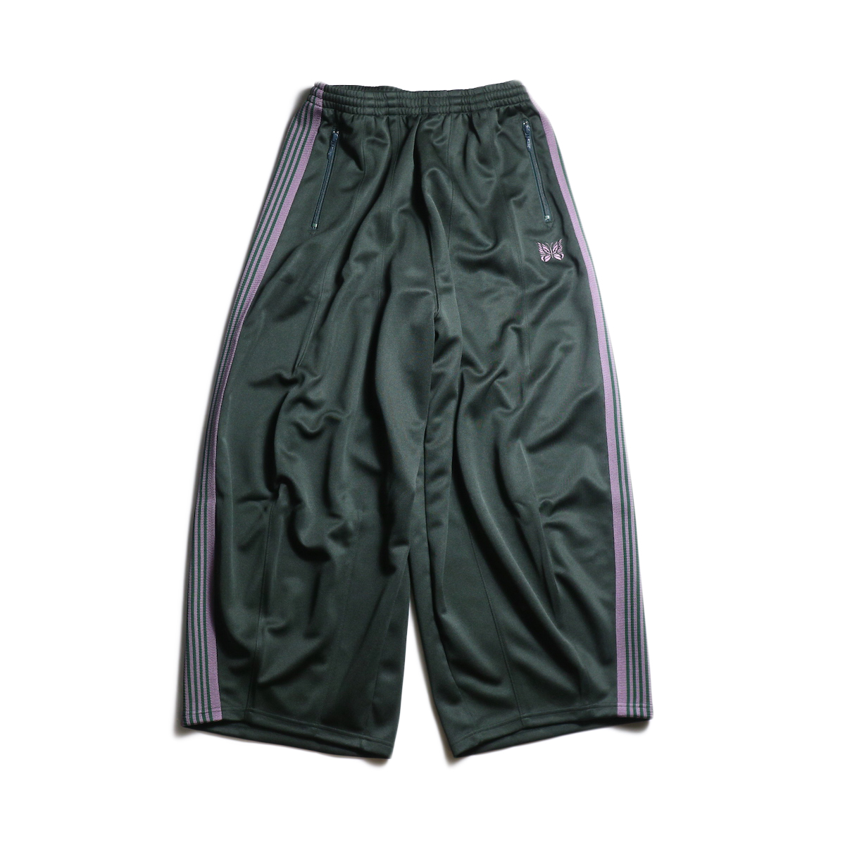 Needles / H.D. TRACK PANT - POLY SMOOTH (Green)