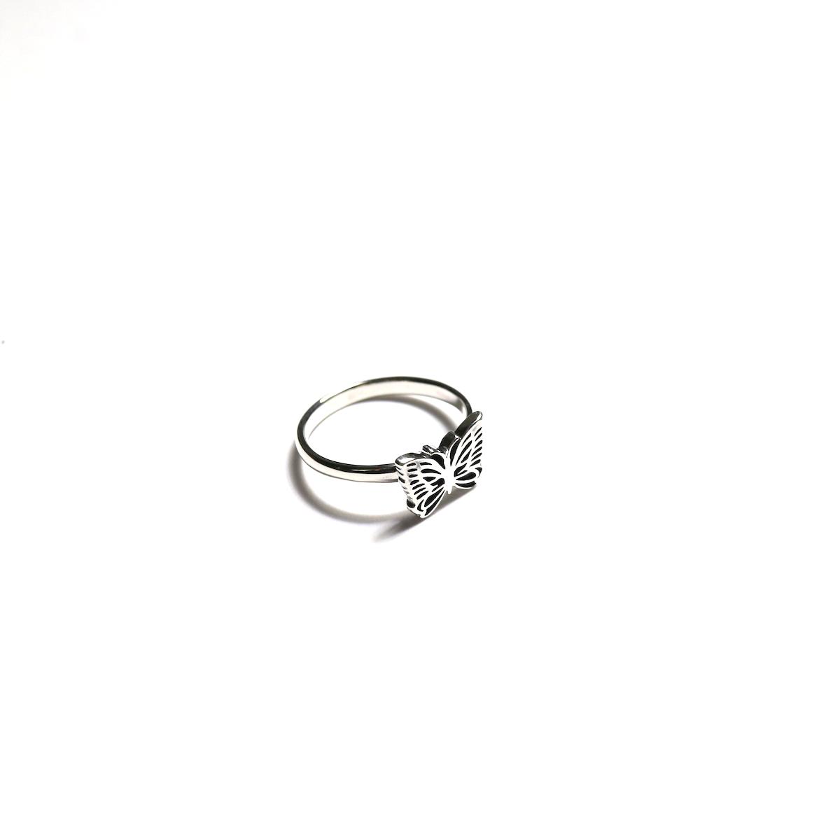 Needles / RING -925SILVER (Papillon)