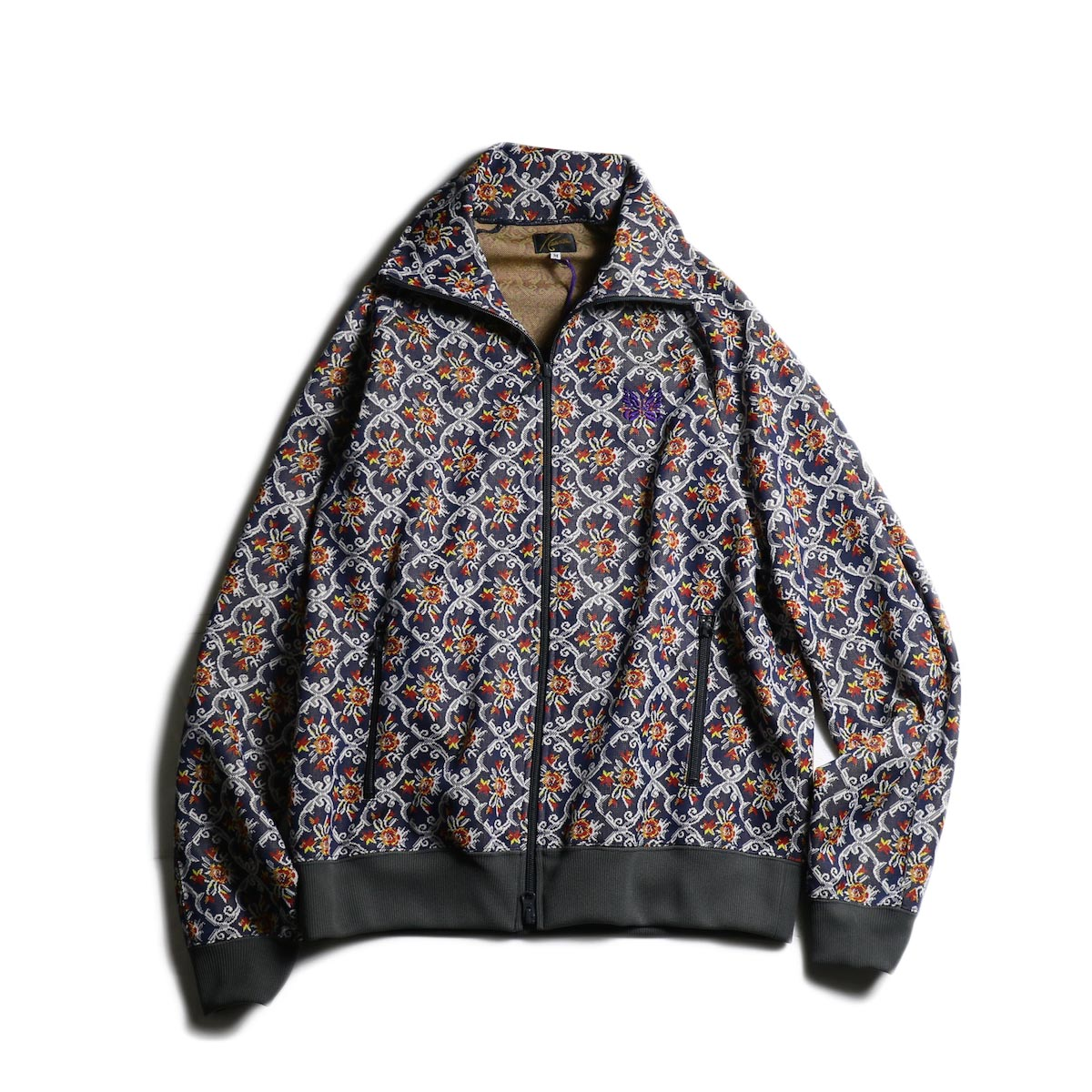 Needles / Track Jacket - Poly Jacquard (Arabesuque)