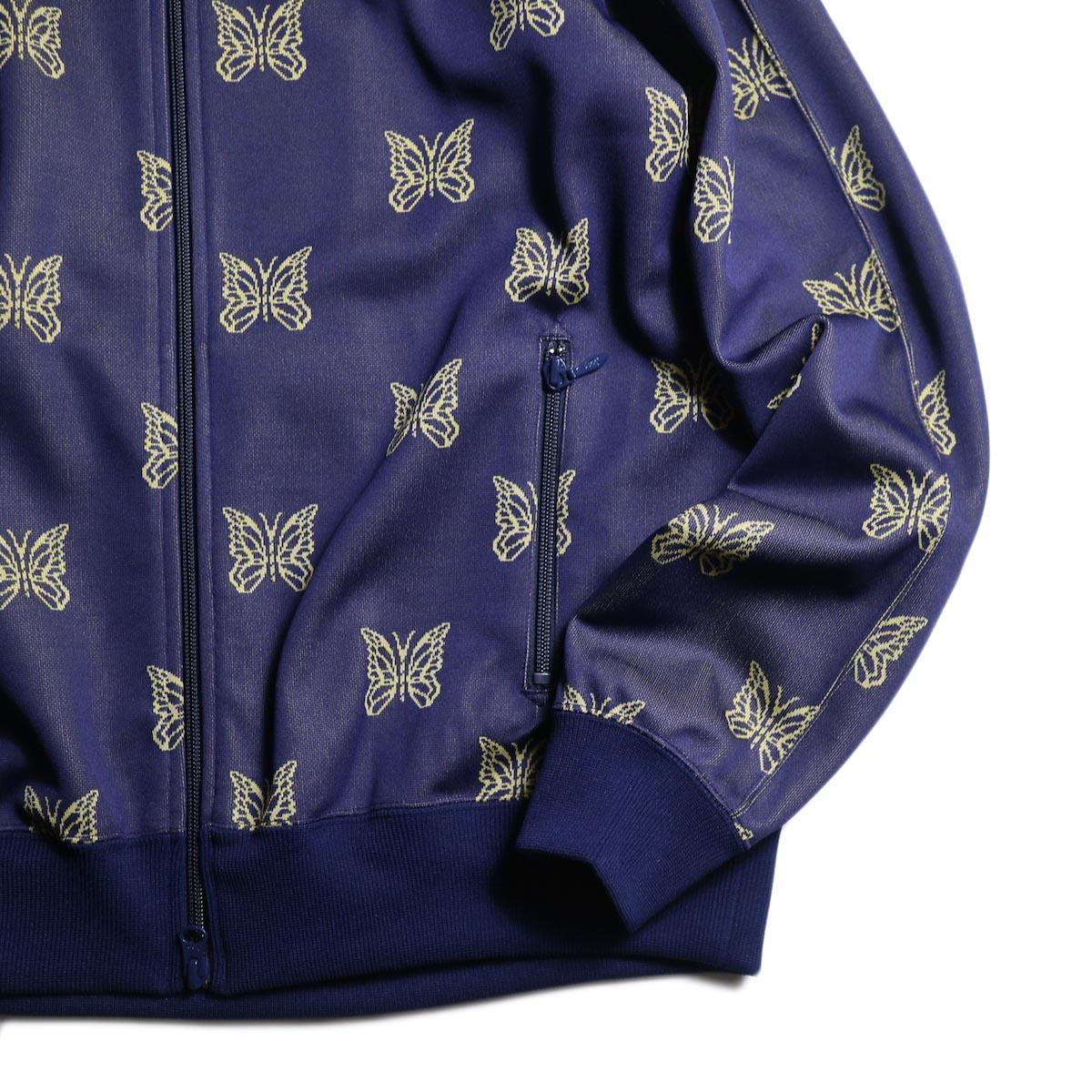 Needles / Track Jacket - Poly Jacquard (Papillon)袖、裾