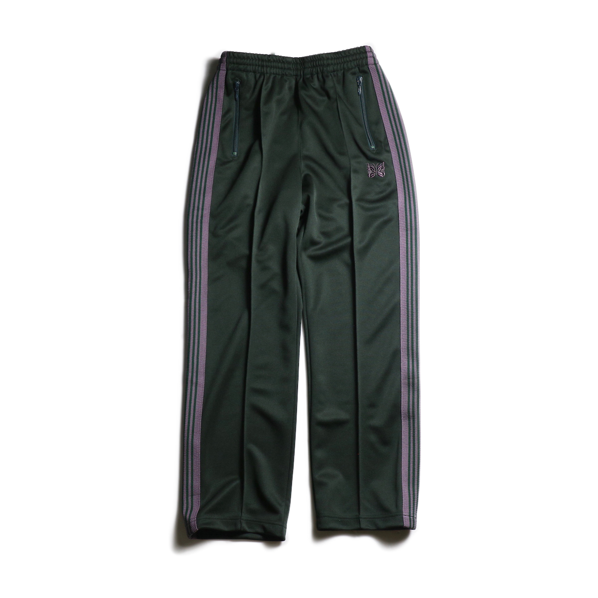Needles / TRACK PANT - POLY SMOOTH (Green)