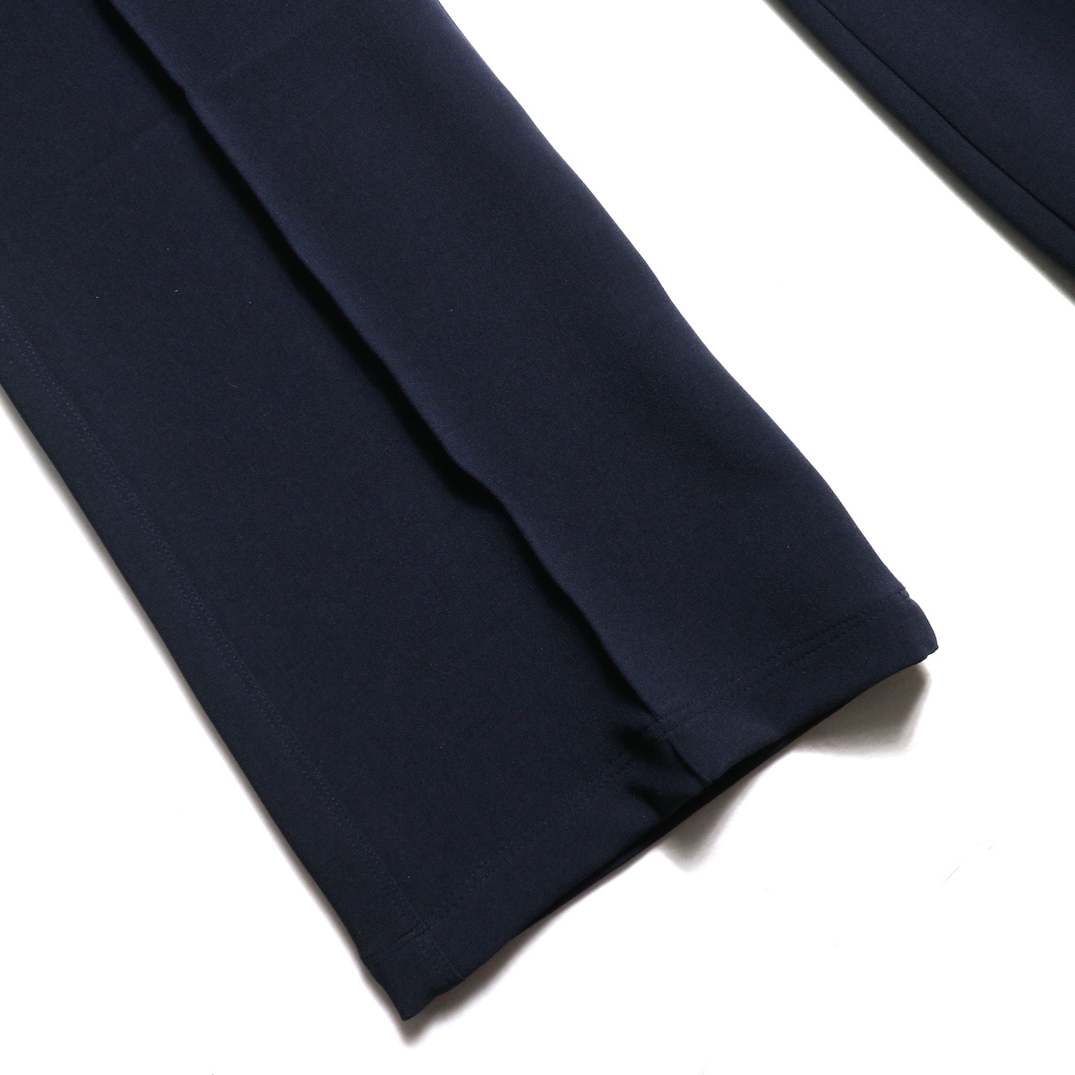 Needles / Warm-Up Boot-Cut Pant -Pe/W Sateen (Navy) 裾