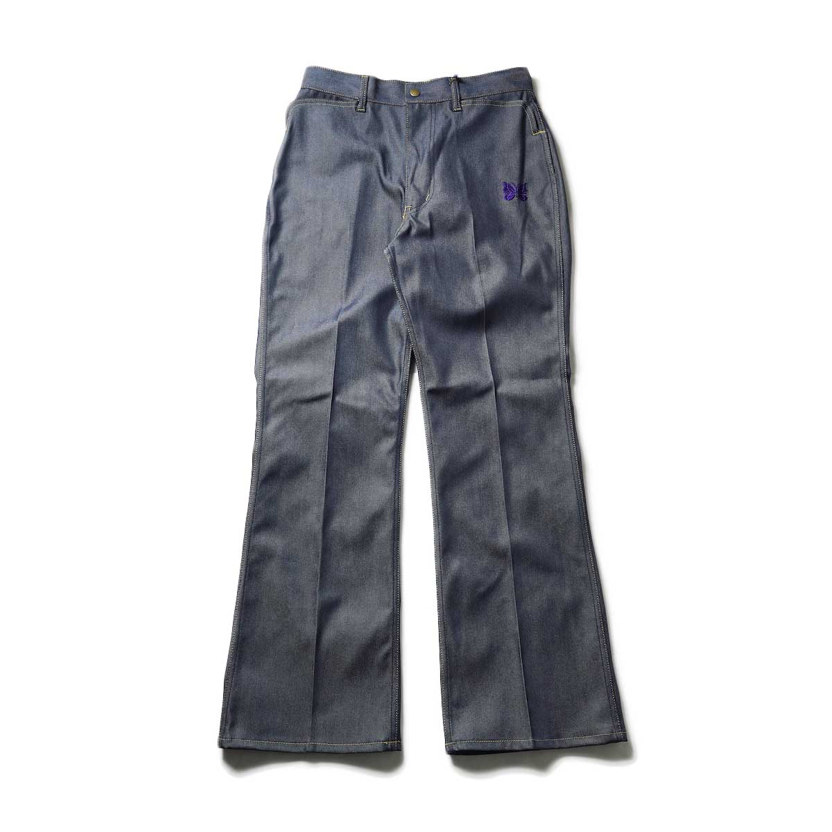 Needles / BOOT-CUT JEAN - 10.5OZ POLY TWILL (Navy)正面