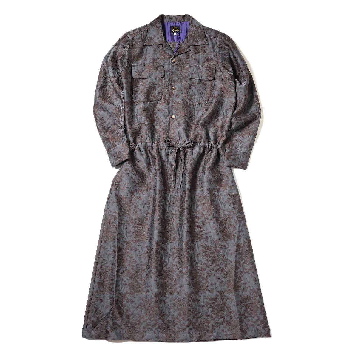 Needles / Classic Shirt Dress (Brown) 正面