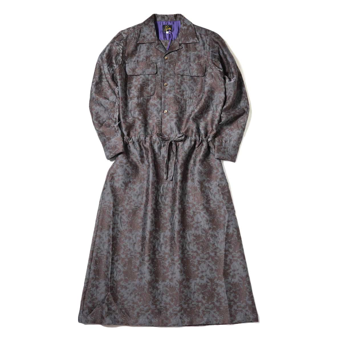 Needles / Classic Shirt Dress (Brown)