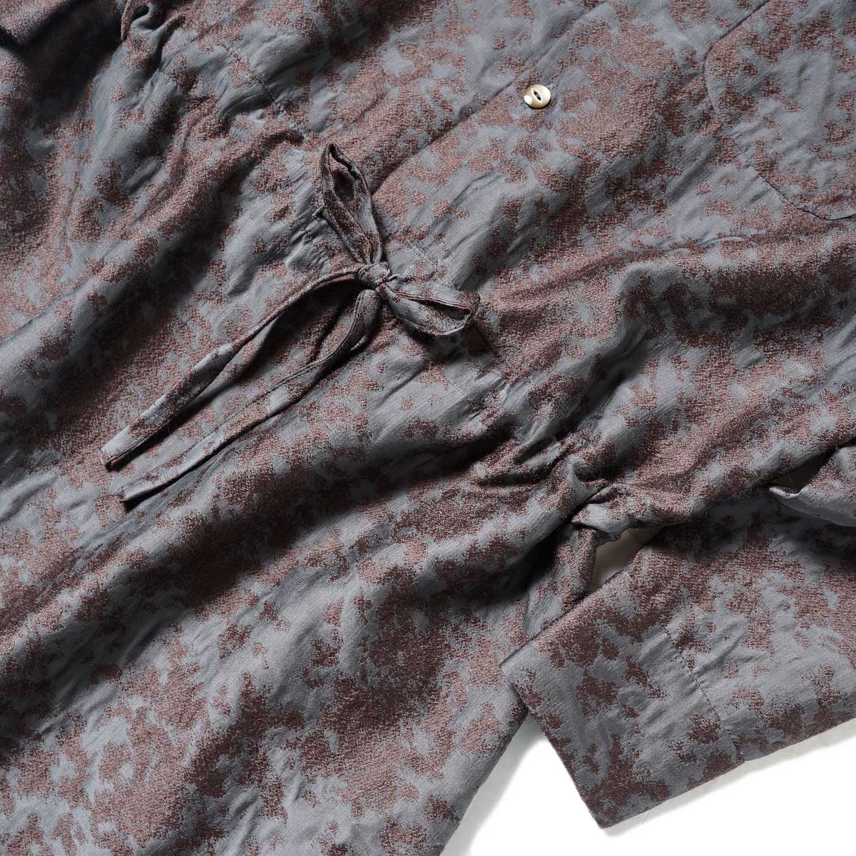Needles / Classic Shirt Dress (Brown) ウエストアップ