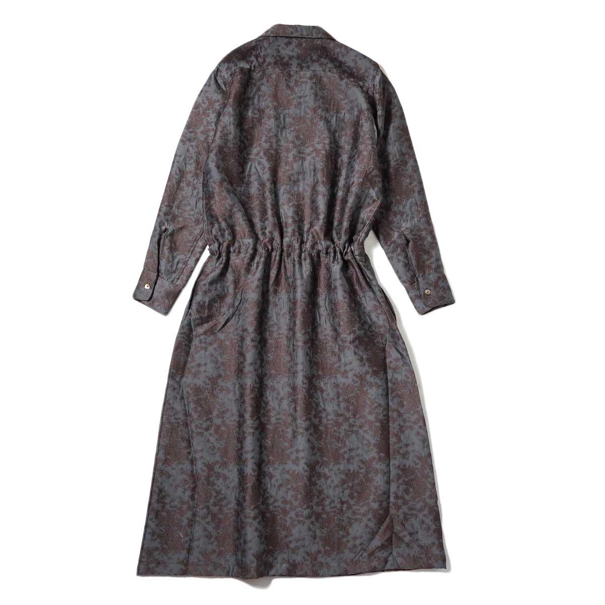 Needles / Classic Shirt Dress (Brown) 背面