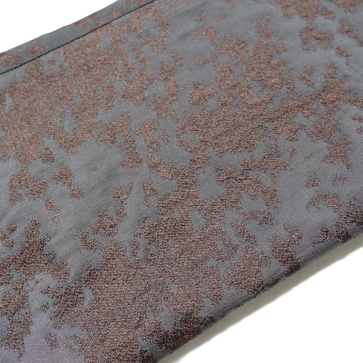 Needles / W.U. BOOT CUT PANT (Brown) 生地アップ
