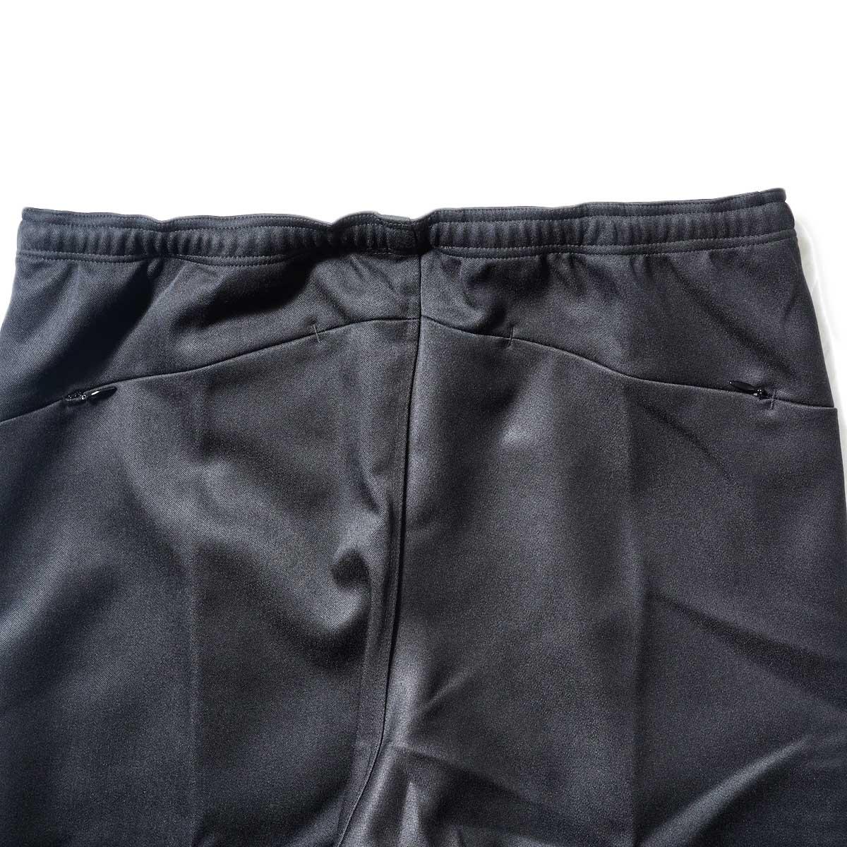 Needles / W.U. BOOT-CUT PANT - PE/R DOESKIN (Black)ヒップポケット