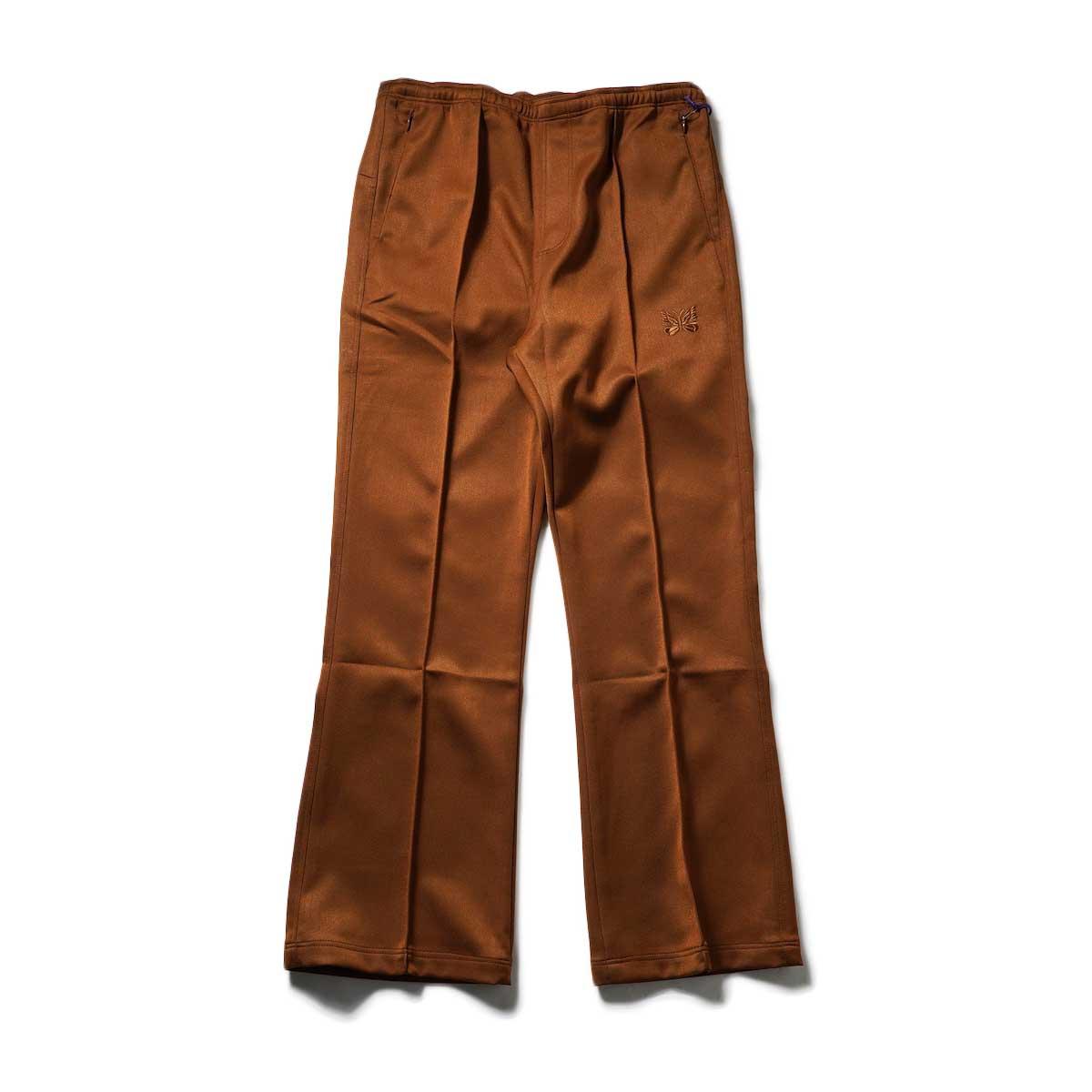 Needles / W.U. BOOT-CUT PANT - PE/R DOESKIN (Brown)正面
