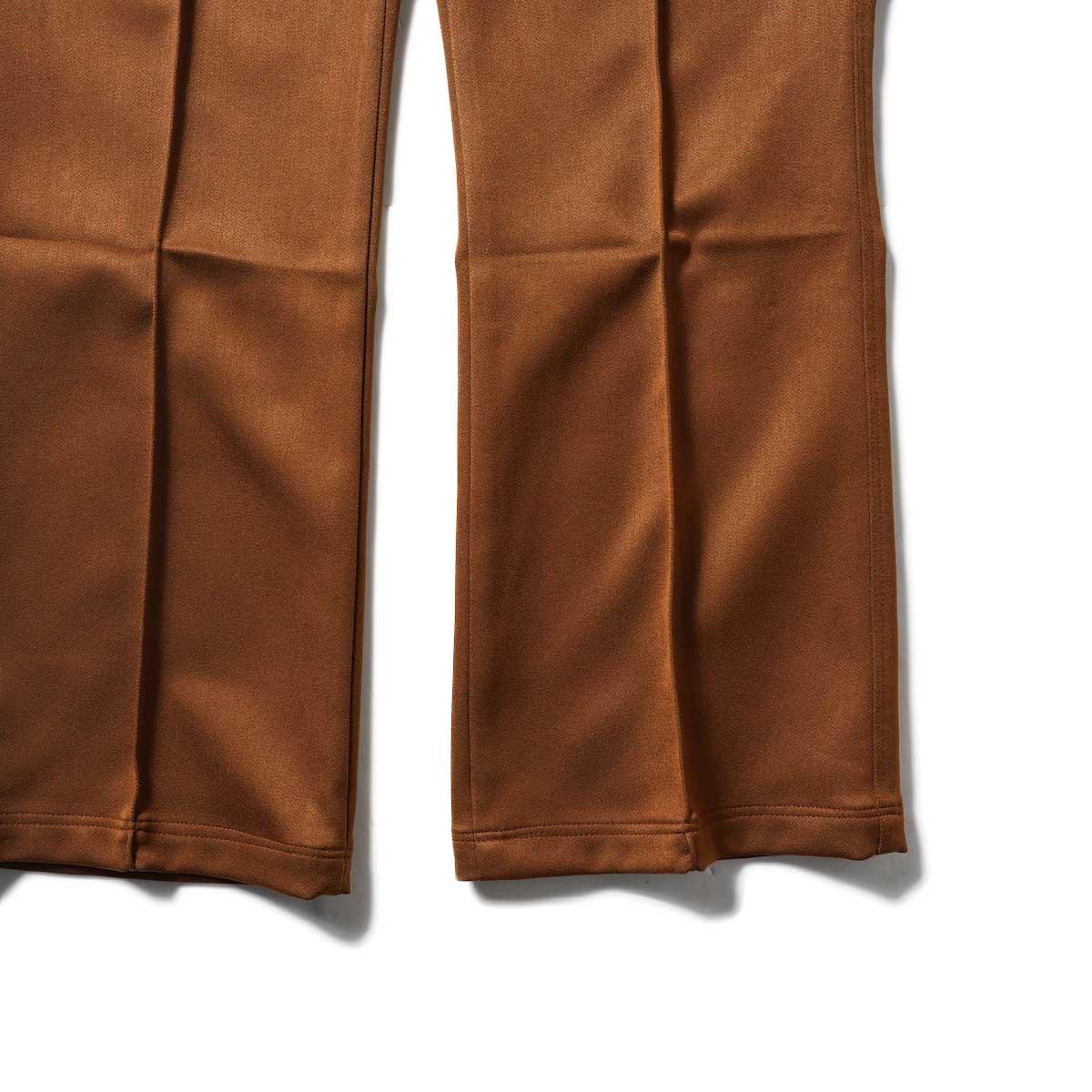 Needles / W.U. BOOT-CUT PANT - PE/R DOESKIN (Brown)裾