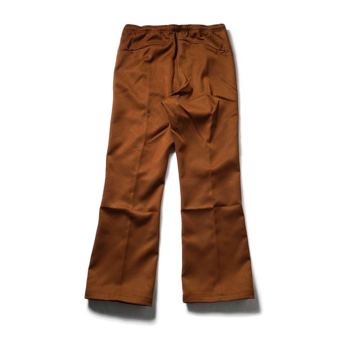 Needles / W.U. BOOT-CUT PANT - PE/R DOESKIN (Brown)背面