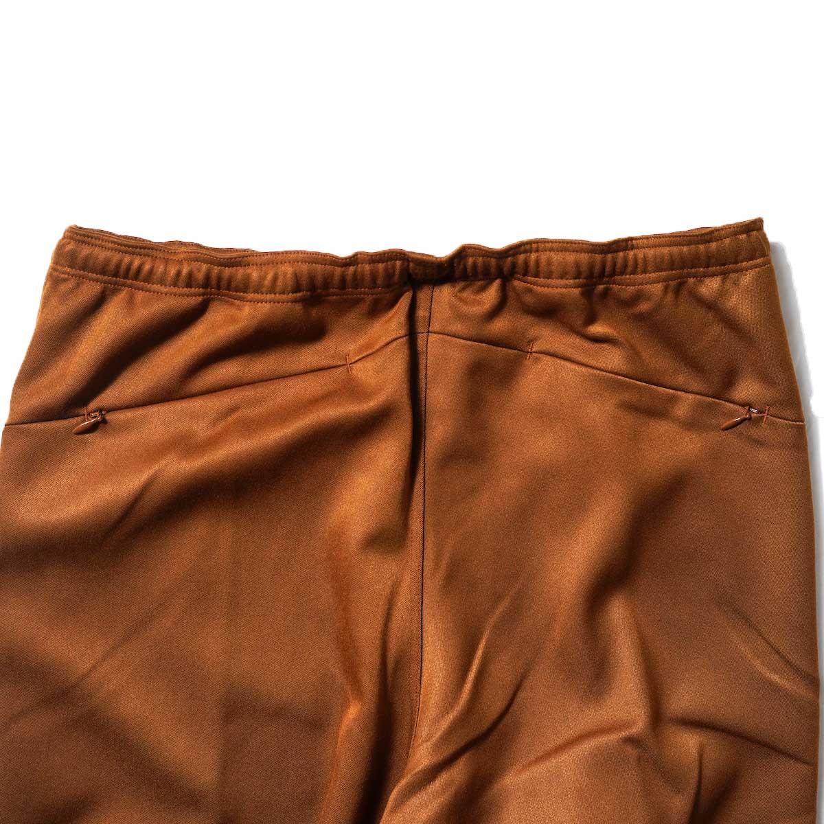 Needles / W.U. BOOT-CUT PANT - PE/R DOESKIN (Brown)ヒップポケット