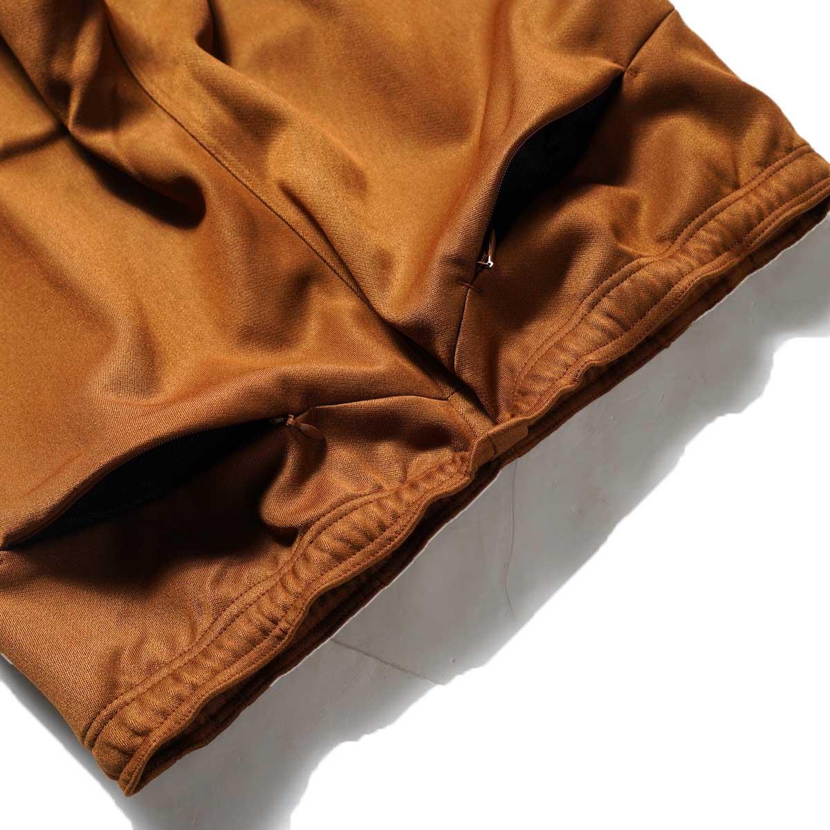 Needles / W.U. BOOT-CUT PANT - PE/R DOESKIN (Brown)ヒップポケット2