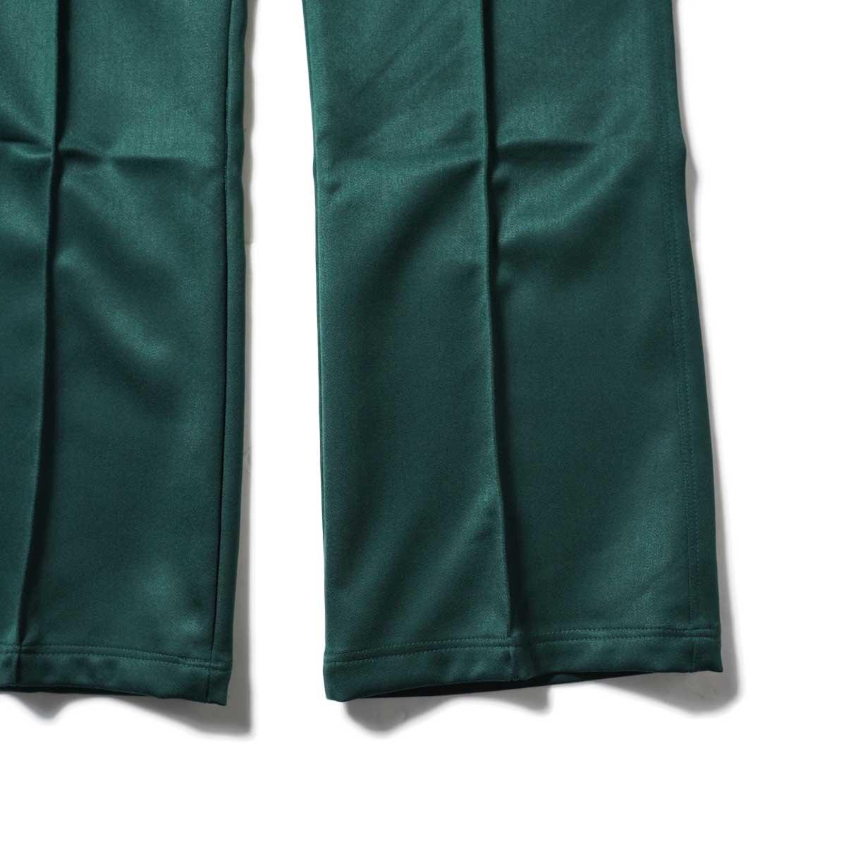 Needles / W.U. BOOT-CUT PANT - PE/R DOESKIN (Green)裾