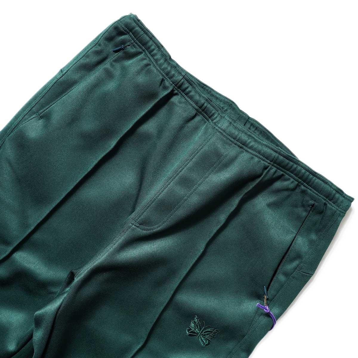 Needles / W.U. BOOT-CUT PANT - PE/R DOESKIN (Green)ウエスト