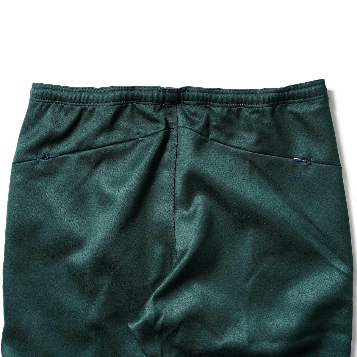 Needles / W.U. BOOT-CUT PANT - PE/R DOESKIN (Green)ヒップポケット