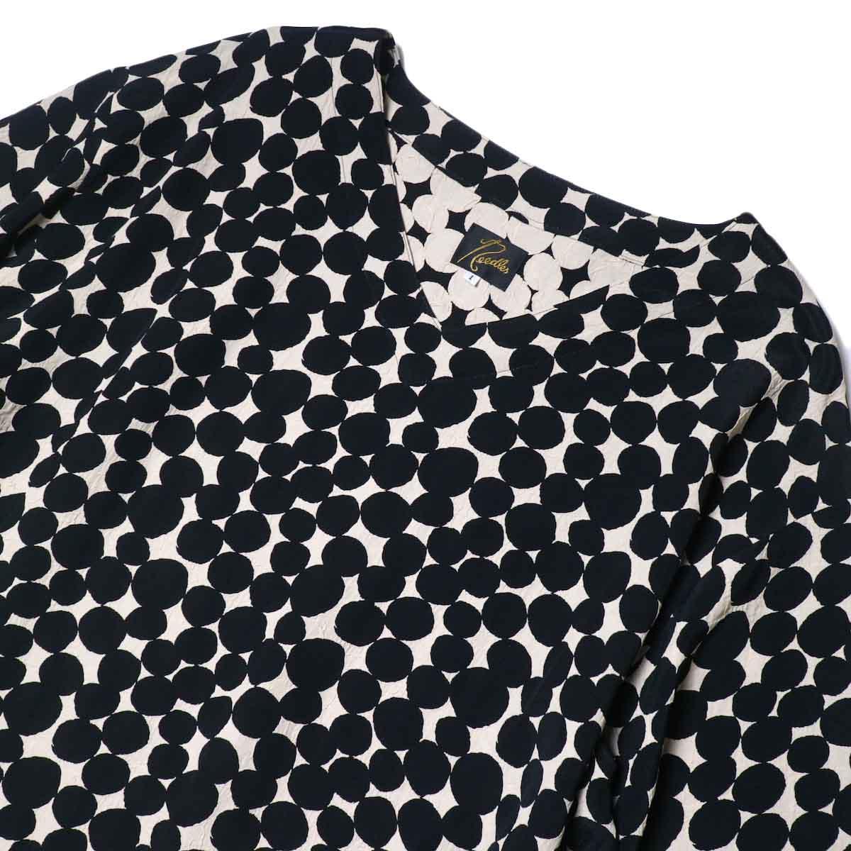 Needles / V Neck Dress-Bubble Jq. 襟