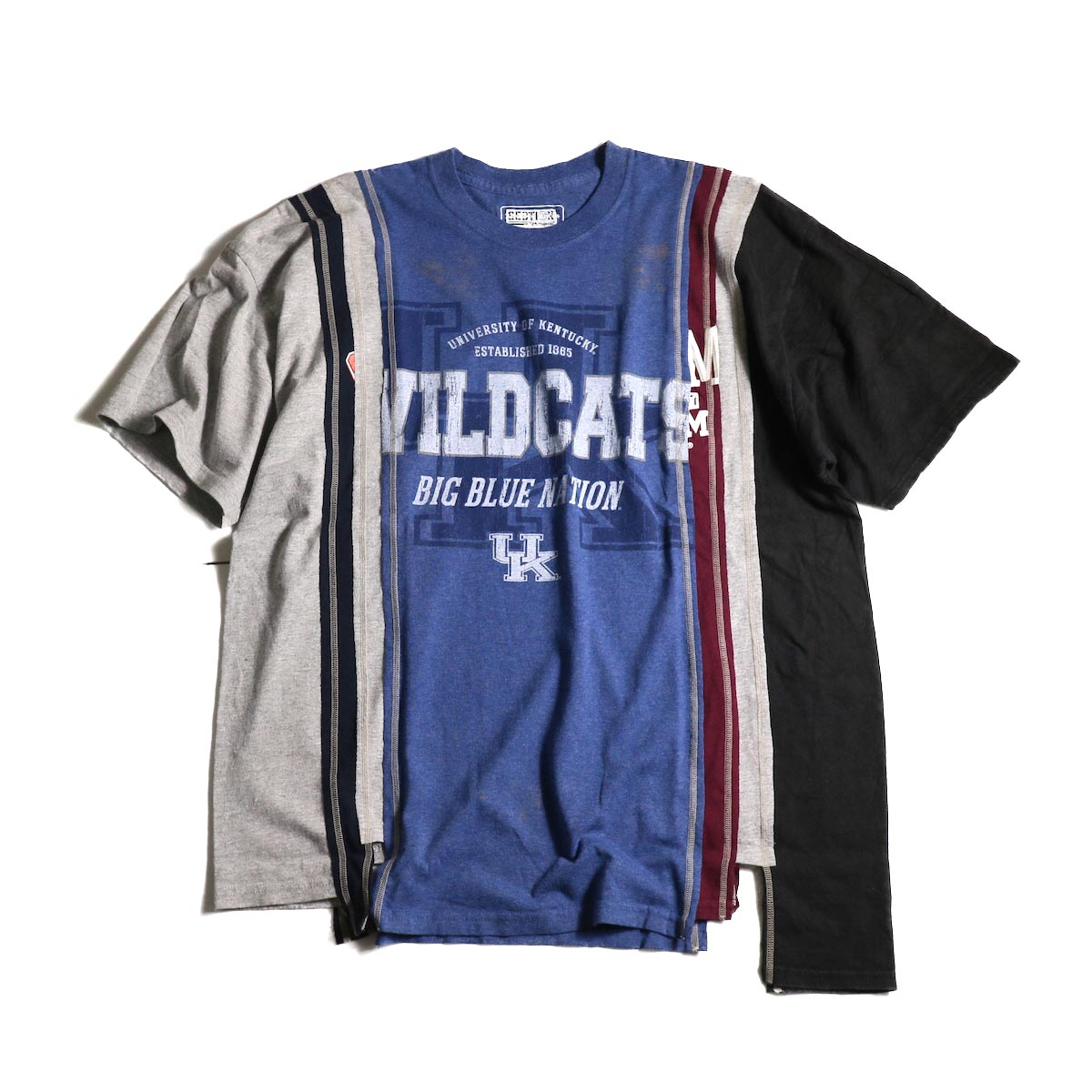 Rebuild by Needles / 7 Cuts Wide Tee - College (E)