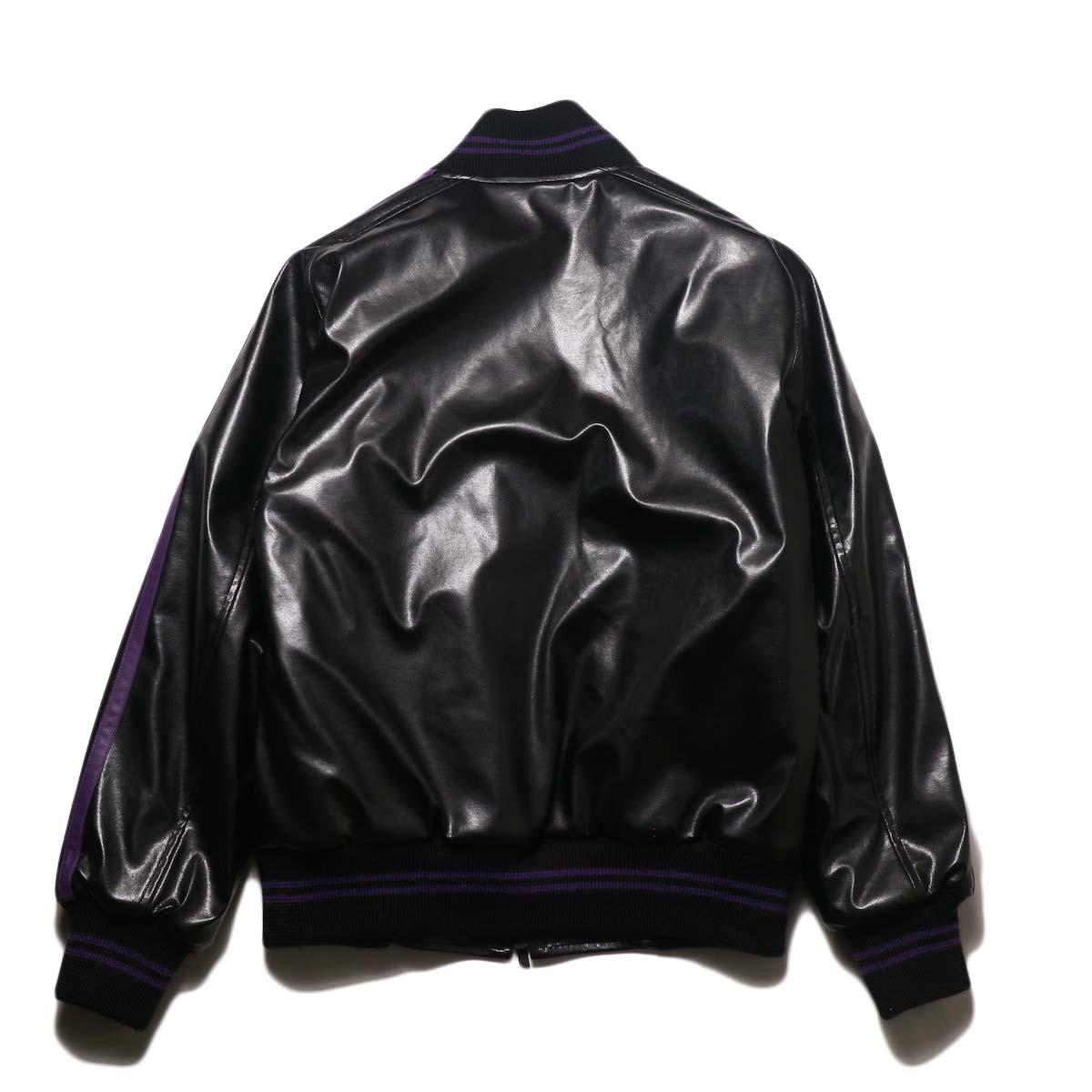 Needles / Award Jacket - Faux Lthr (Black)背面