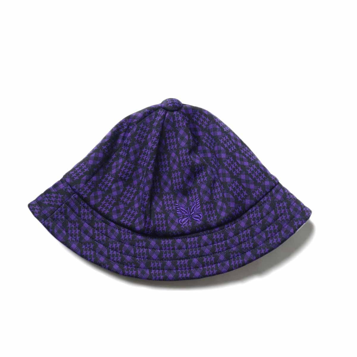 Needles / Bermuda Hat -Poly Jq. (Houndstooth)