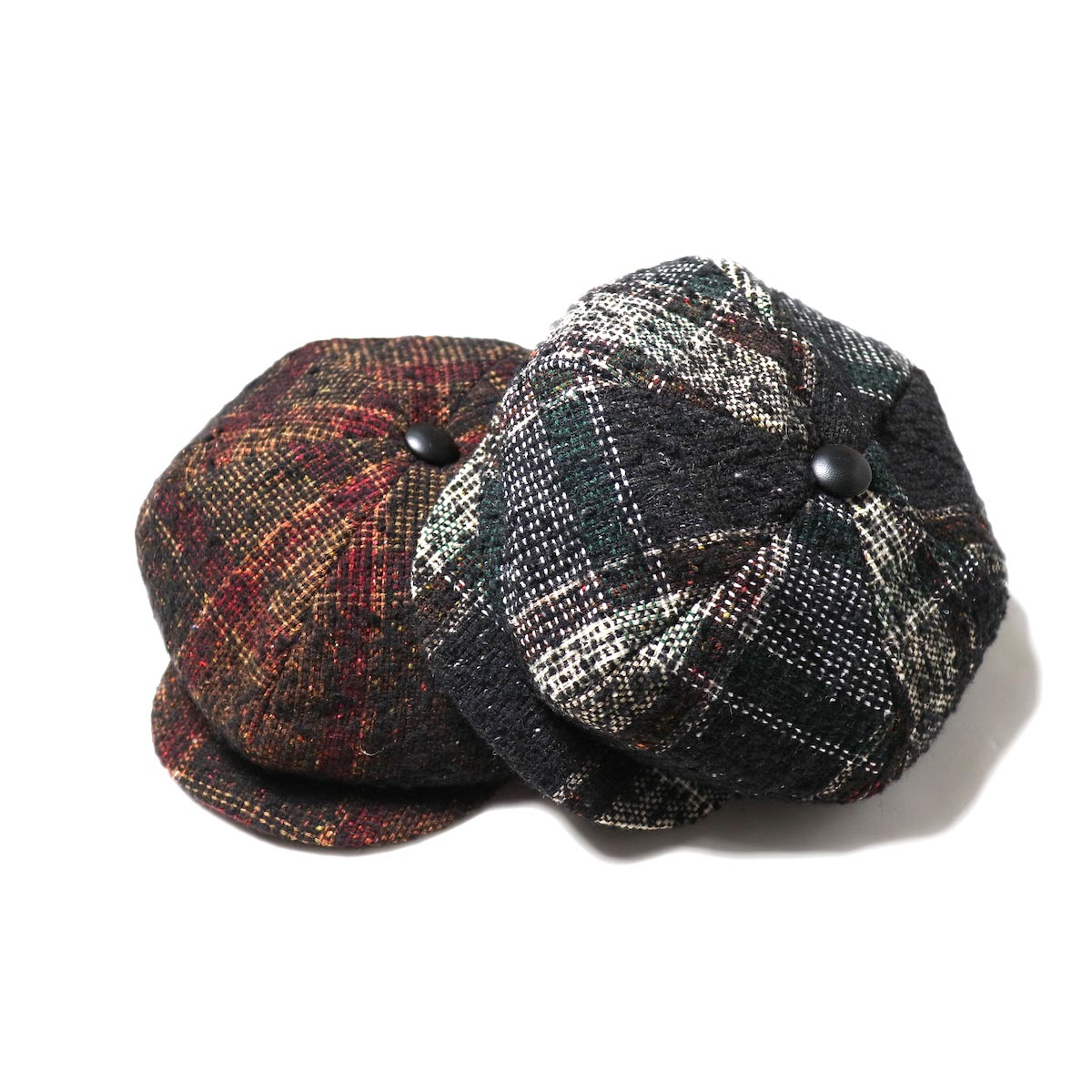 Needles / Casquette -Nep Tweed