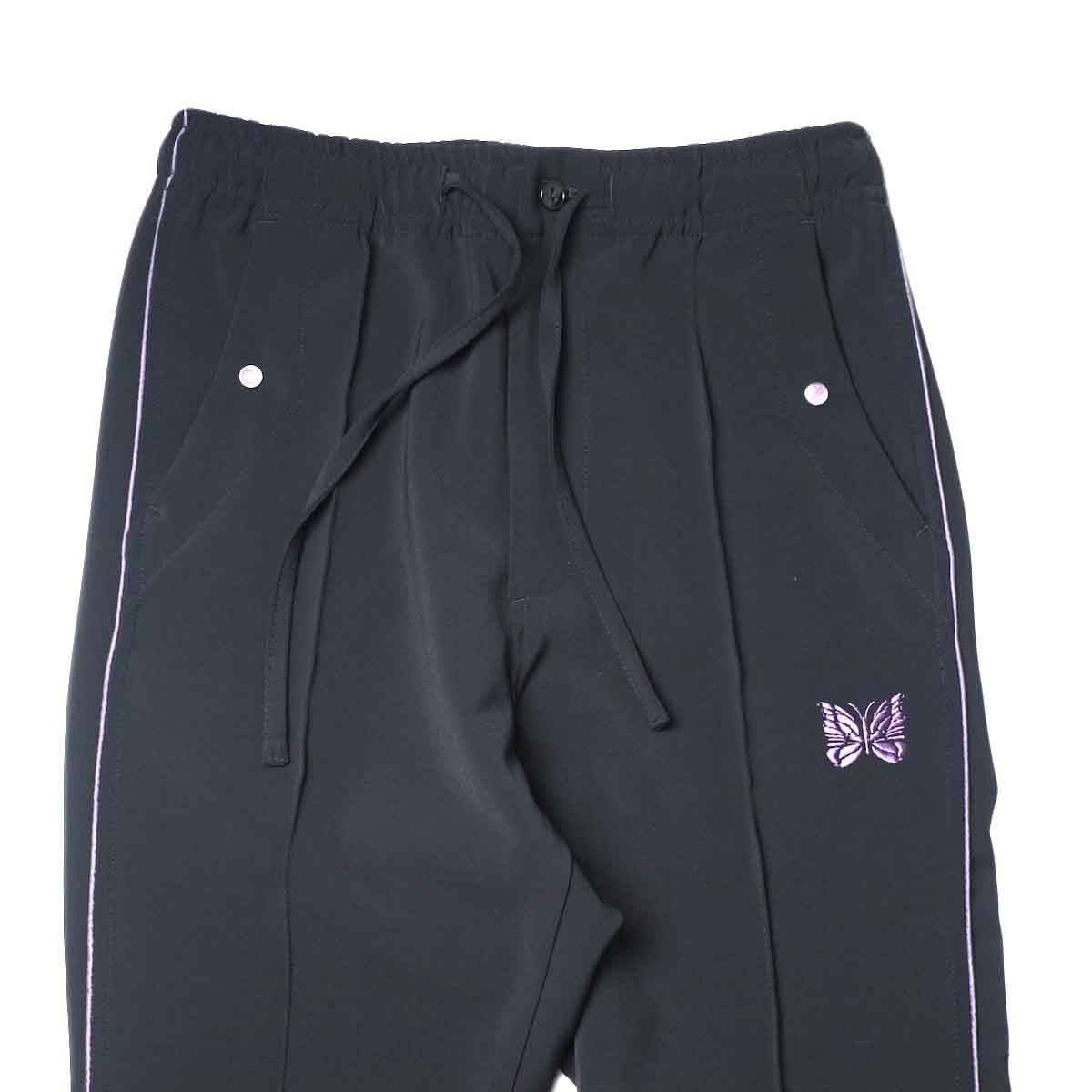 Needles / PIPING COWBOY PANT - PE/PU DOUBLE CLOTH (Black)ウエスト