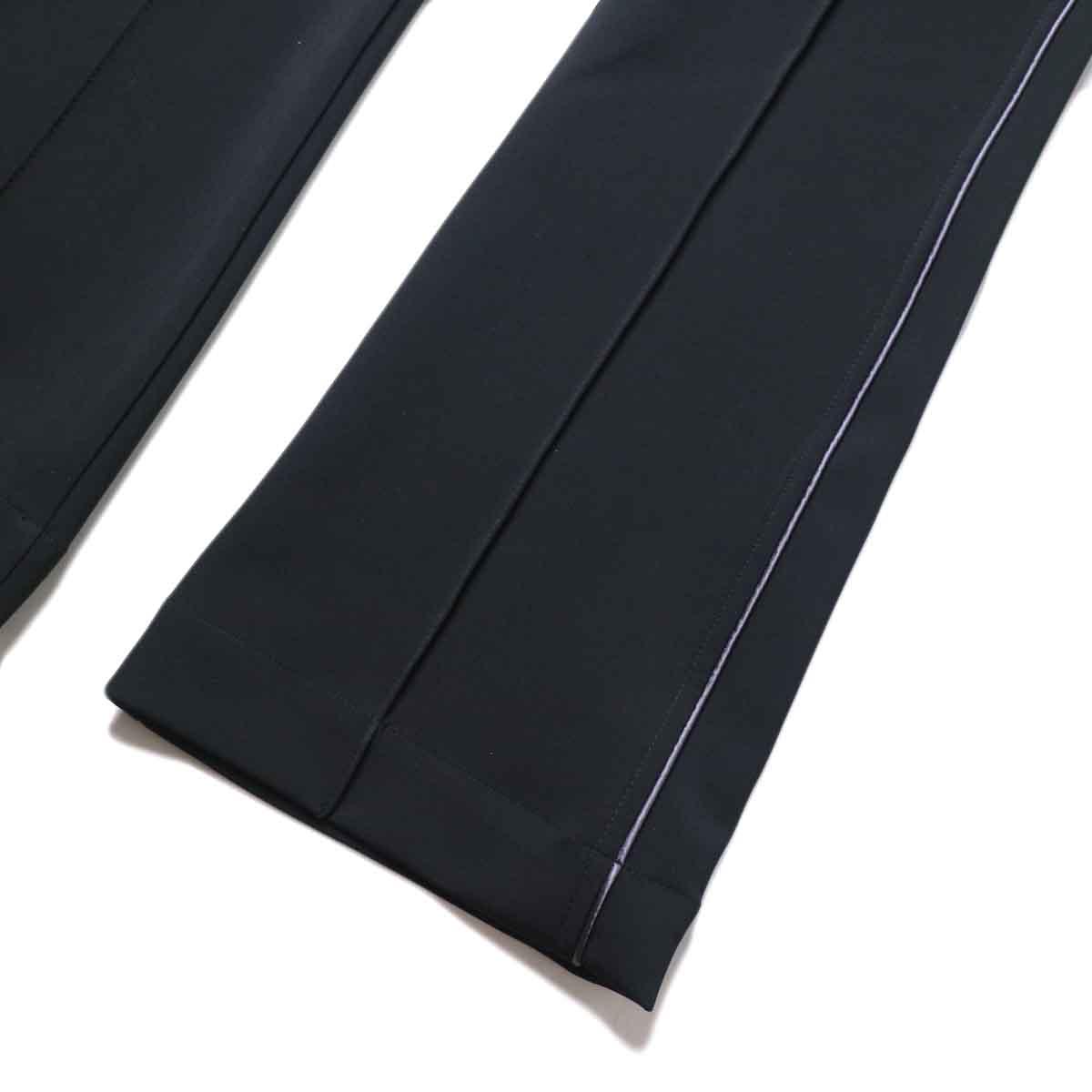 Needles / PIPING COWBOY PANT - PE/PU DOUBLE CLOTH (Black)裾