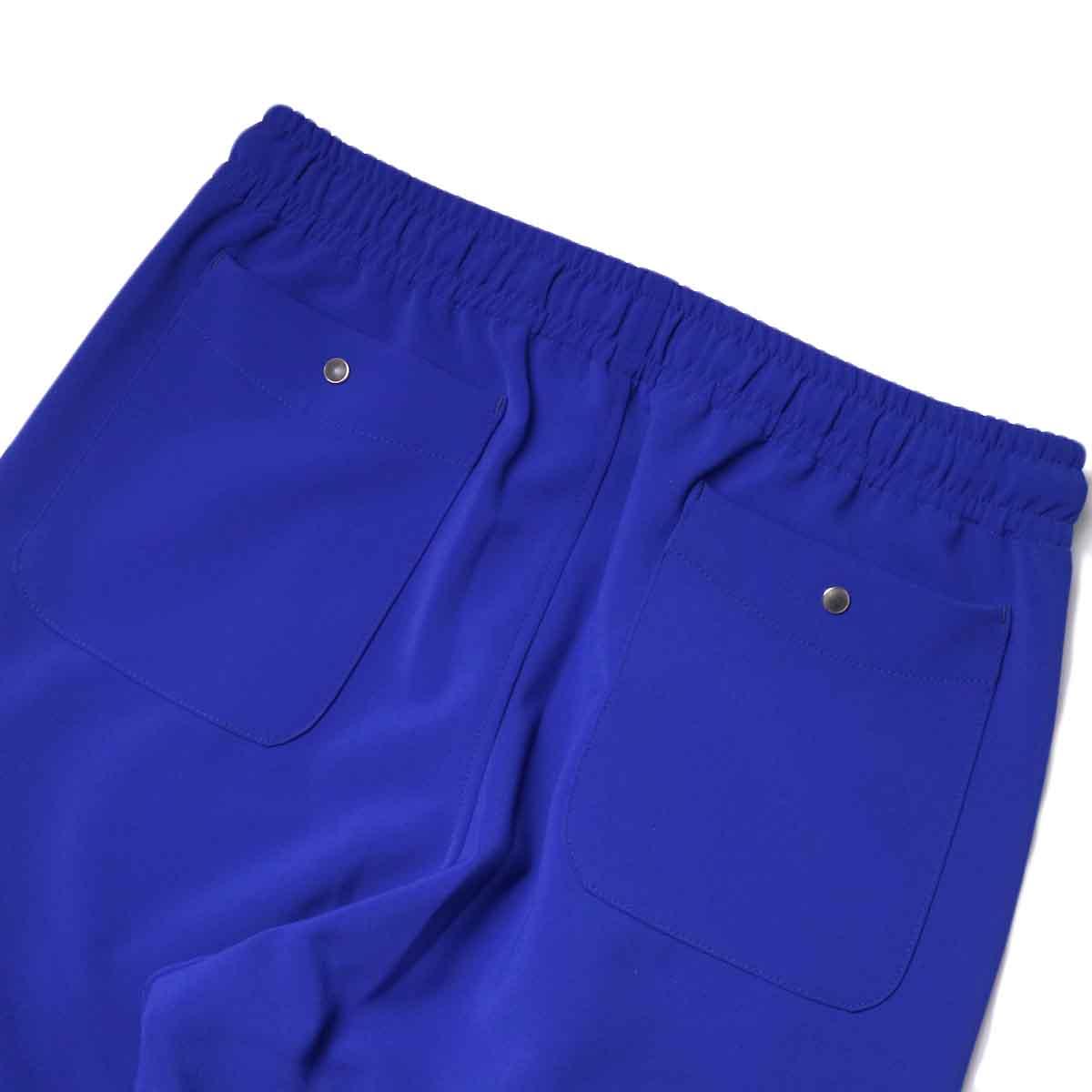Needles / PIPING COWBOY PANT - PE/PU DOUBLE CLOTH (Royal)ヒップポケット