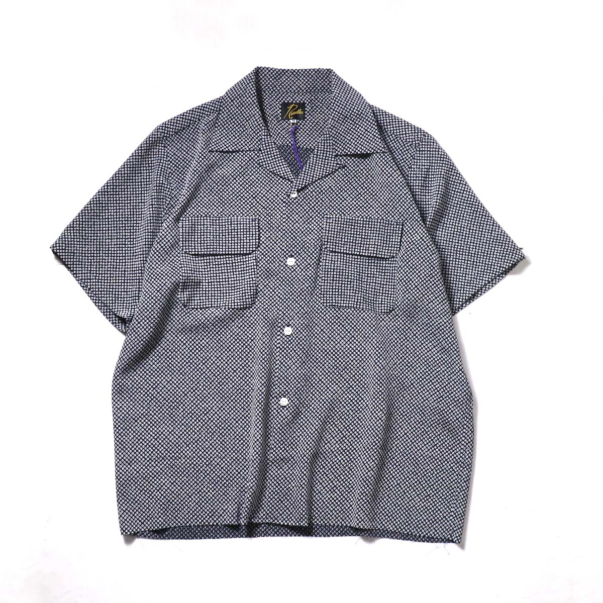 Needles / C.O.B. S/S Classic Shirt - Poly Crepe (Hitta)