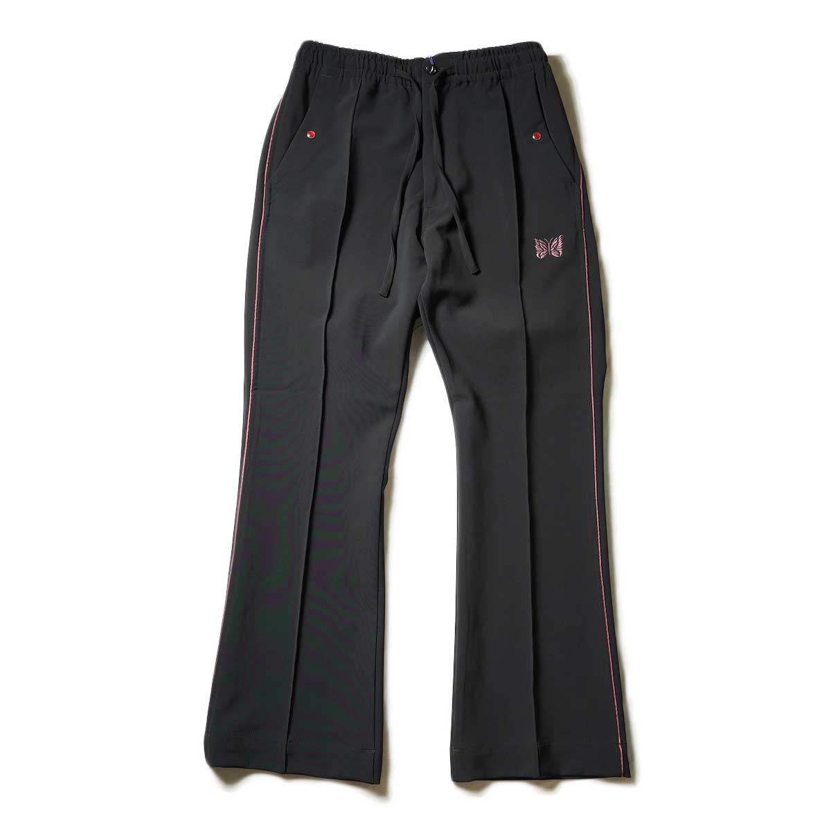 (Ladie's) Needles / Piping Cowboy Pants - Pe/Pu Double Cloth (Black)Needles / Piping Cowboy Pants - Pe/Pu Double Cloth (Black)